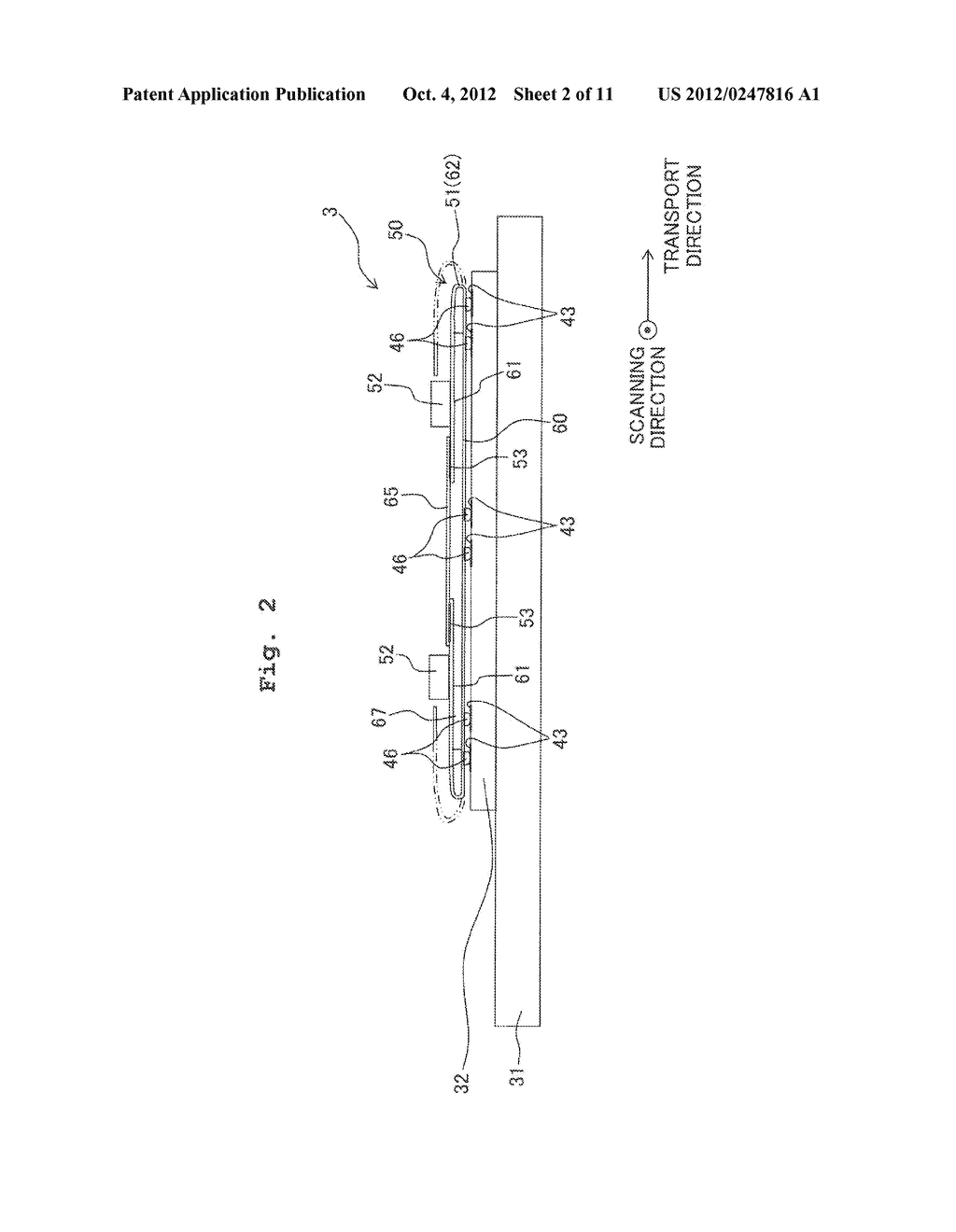 FLEXIBLE WIRING SUBSTRATE, METHOD FOR ASSEMBLING FLEXIBLE WIRING     SUBSTRATE, AND METHOD FOR MANUFACTURING LIQUID JETTING APPARATUS - diagram, schematic, and image 03