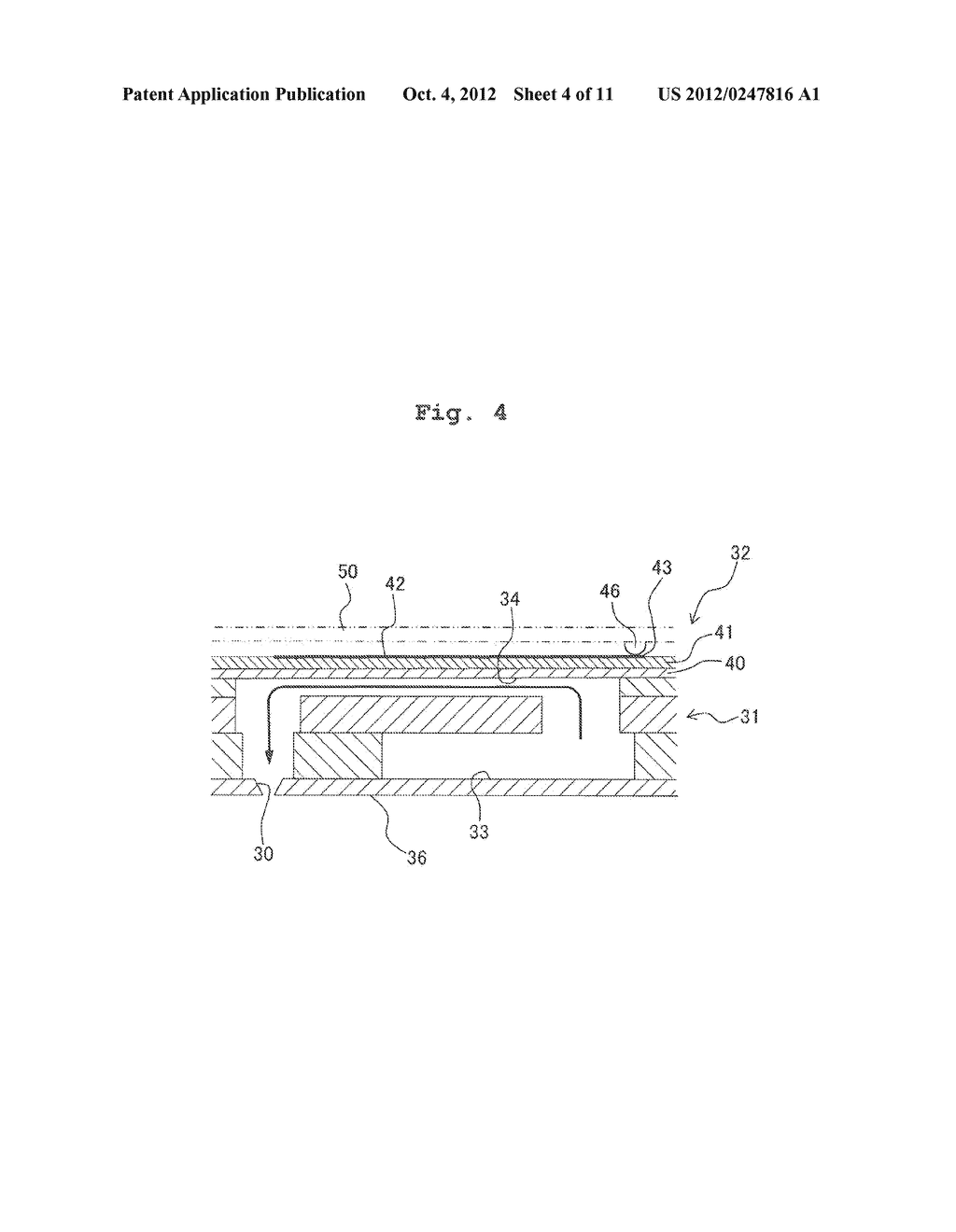 FLEXIBLE WIRING SUBSTRATE, METHOD FOR ASSEMBLING FLEXIBLE WIRING     SUBSTRATE, AND METHOD FOR MANUFACTURING LIQUID JETTING APPARATUS - diagram, schematic, and image 05