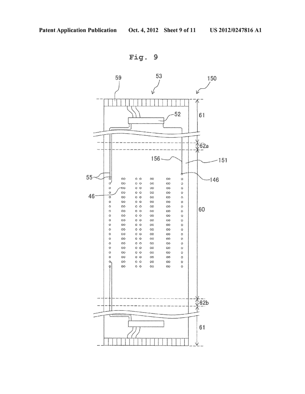 FLEXIBLE WIRING SUBSTRATE, METHOD FOR ASSEMBLING FLEXIBLE WIRING     SUBSTRATE, AND METHOD FOR MANUFACTURING LIQUID JETTING APPARATUS - diagram, schematic, and image 10