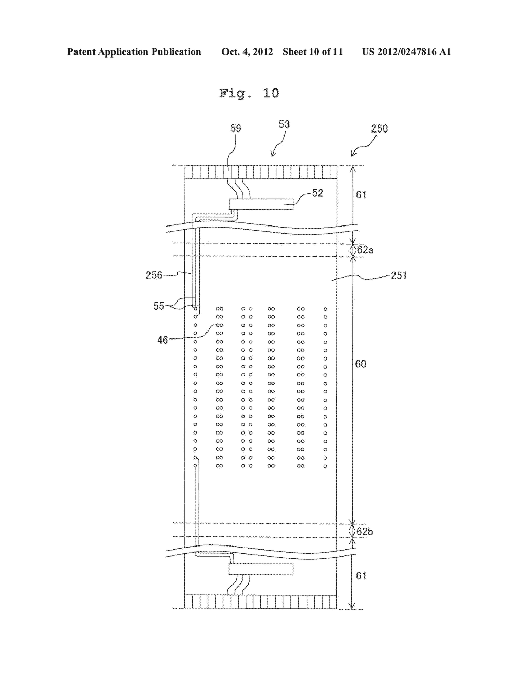 FLEXIBLE WIRING SUBSTRATE, METHOD FOR ASSEMBLING FLEXIBLE WIRING     SUBSTRATE, AND METHOD FOR MANUFACTURING LIQUID JETTING APPARATUS - diagram, schematic, and image 11