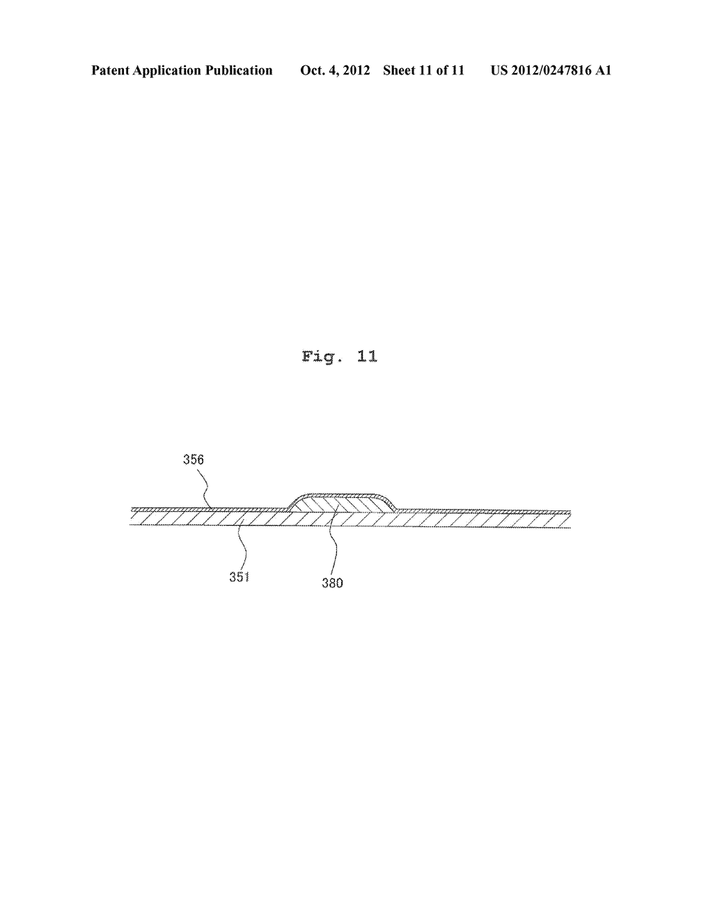 FLEXIBLE WIRING SUBSTRATE, METHOD FOR ASSEMBLING FLEXIBLE WIRING     SUBSTRATE, AND METHOD FOR MANUFACTURING LIQUID JETTING APPARATUS - diagram, schematic, and image 12