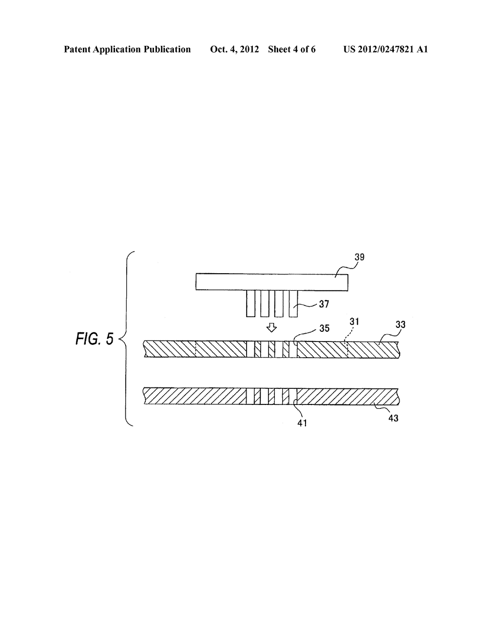 CERAMIC SUBSTRATE AND METHOD FOR MANUFACTURING THE SAME - diagram, schematic, and image 05