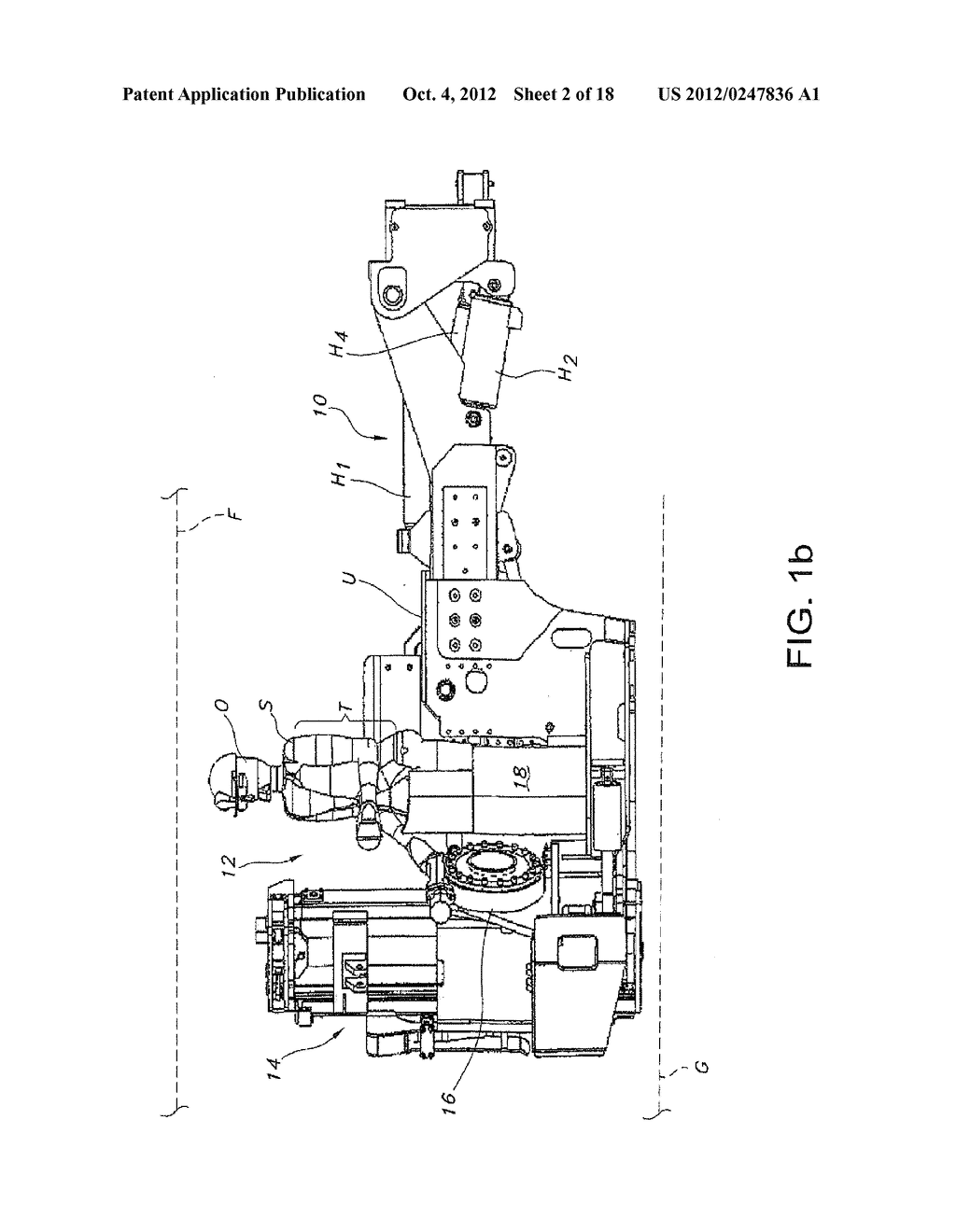 MINING MACHINE WITH BOOMS PROVIDING ENHANCED RIB ACCESS - diagram, schematic, and image 03