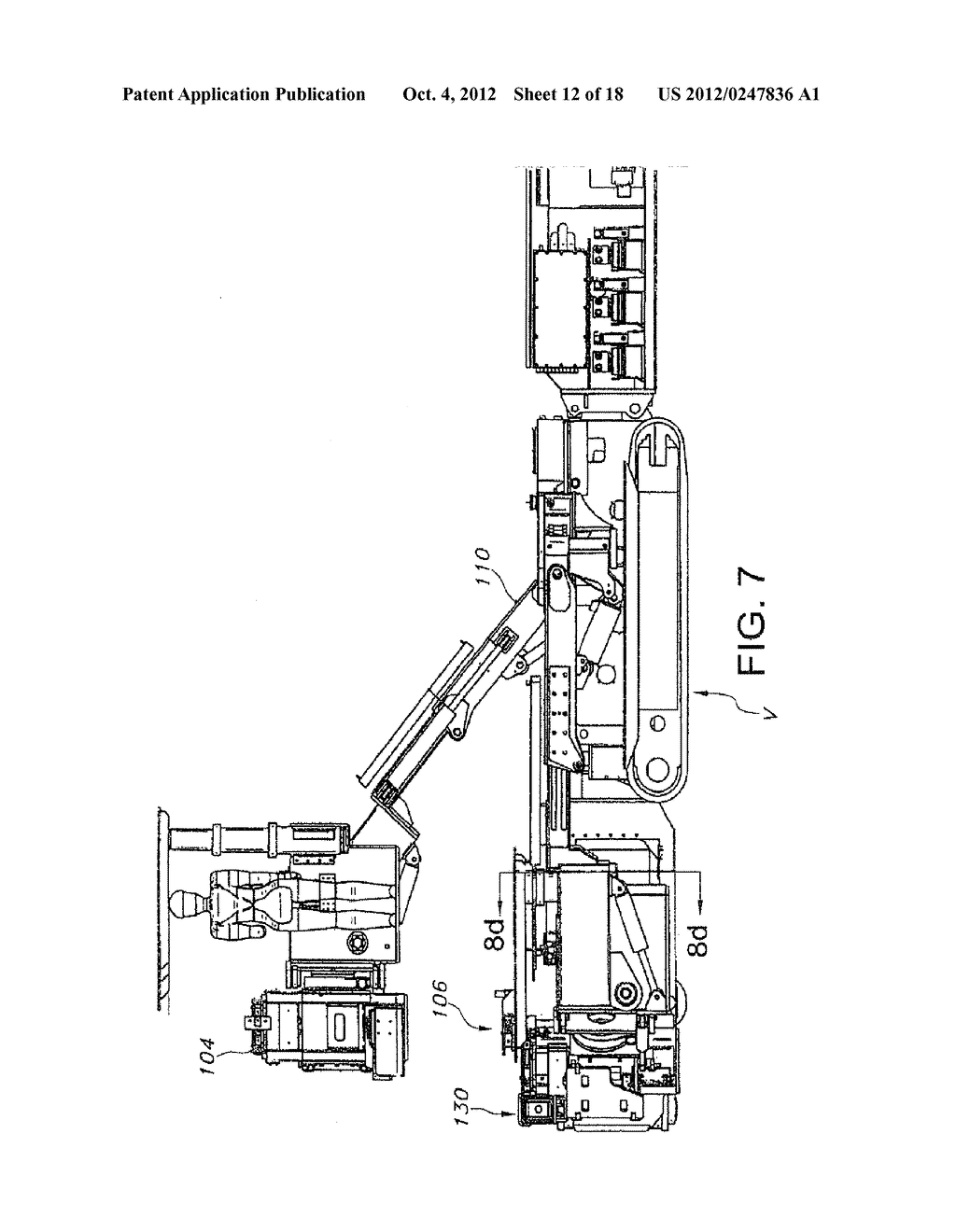 MINING MACHINE WITH BOOMS PROVIDING ENHANCED RIB ACCESS - diagram, schematic, and image 13