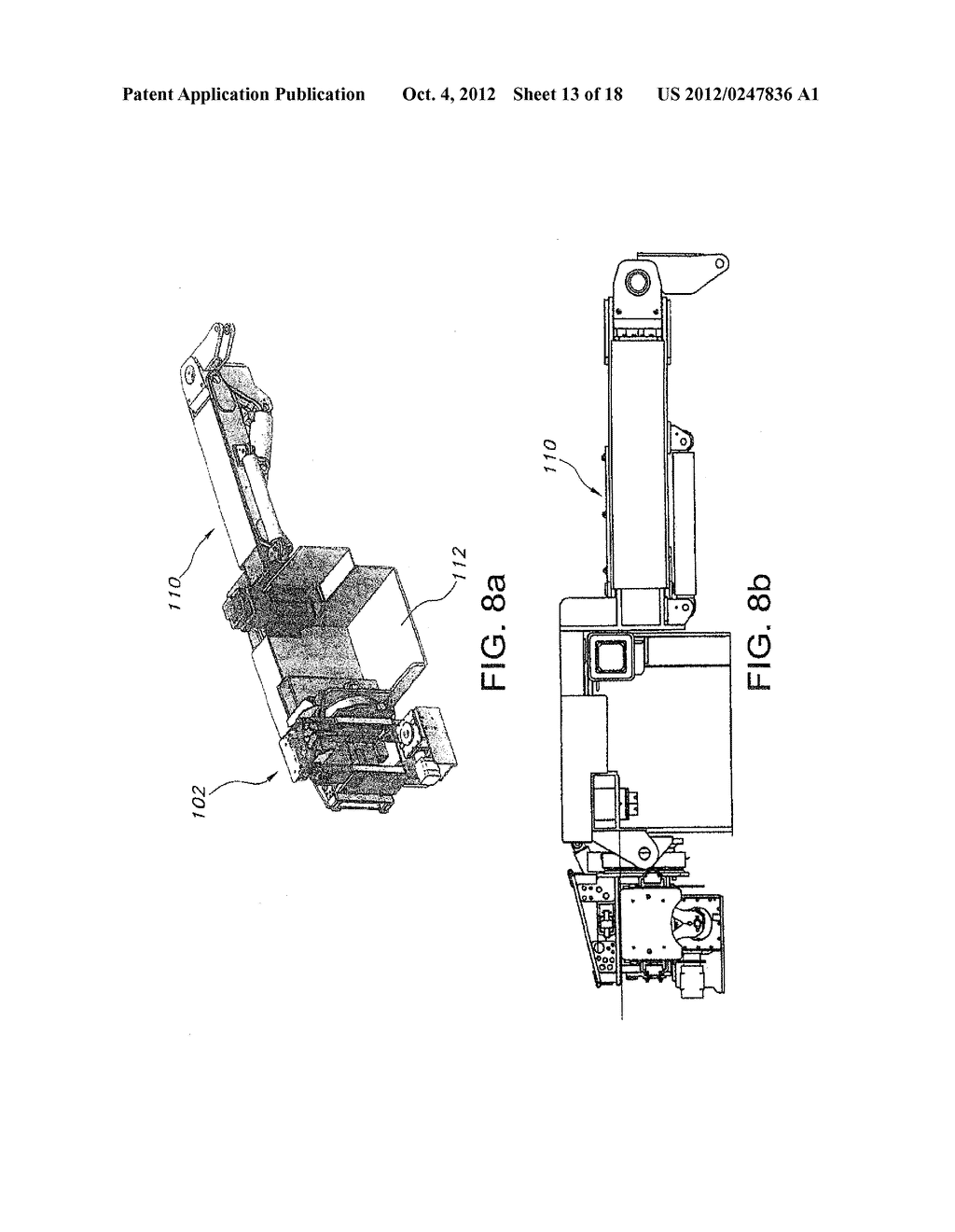 MINING MACHINE WITH BOOMS PROVIDING ENHANCED RIB ACCESS - diagram, schematic, and image 14