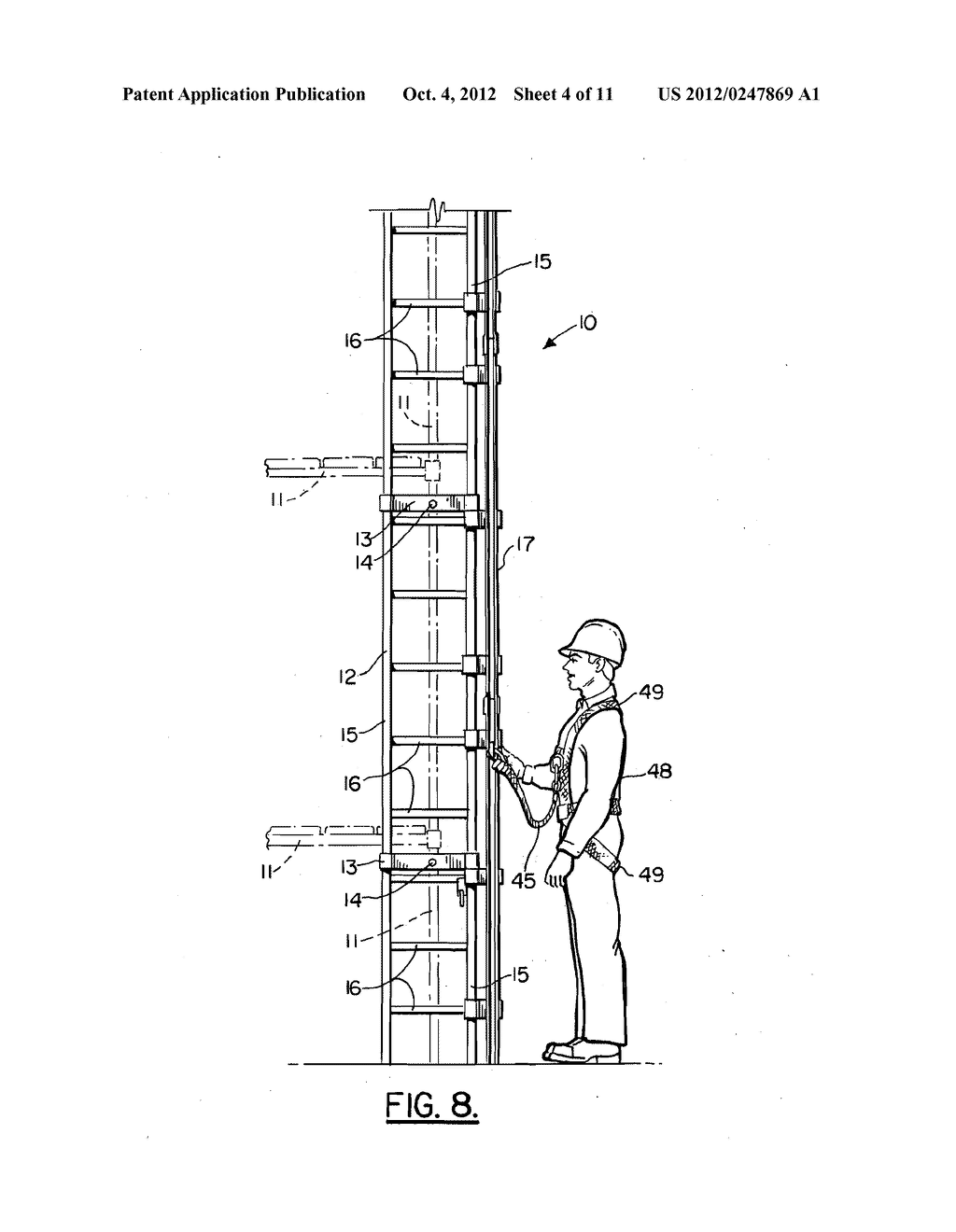 LADDER SAFETY APPARATUS - diagram, schematic, and image 05