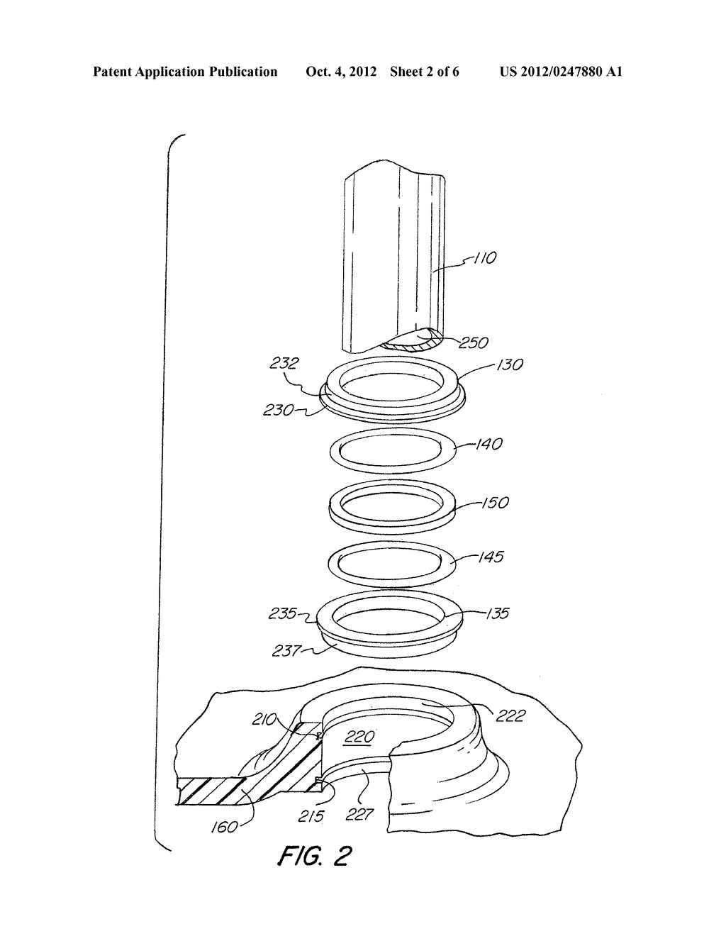 Smooth Bore Dynamic Center Seal For Spring Brake Actuator - diagram, schematic, and image 03
