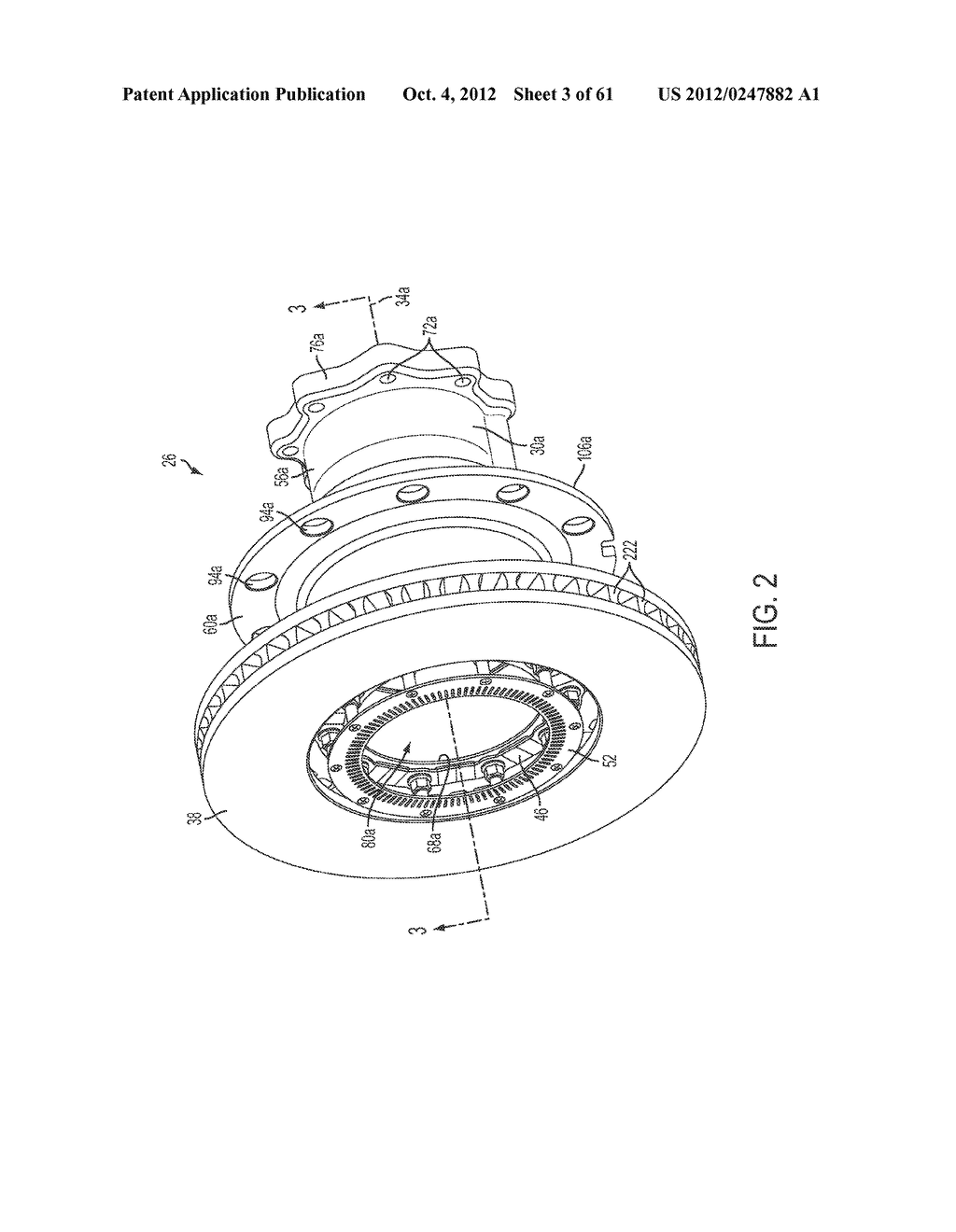 DISK BRAKE HUB ASSEMBLY - diagram, schematic, and image 04