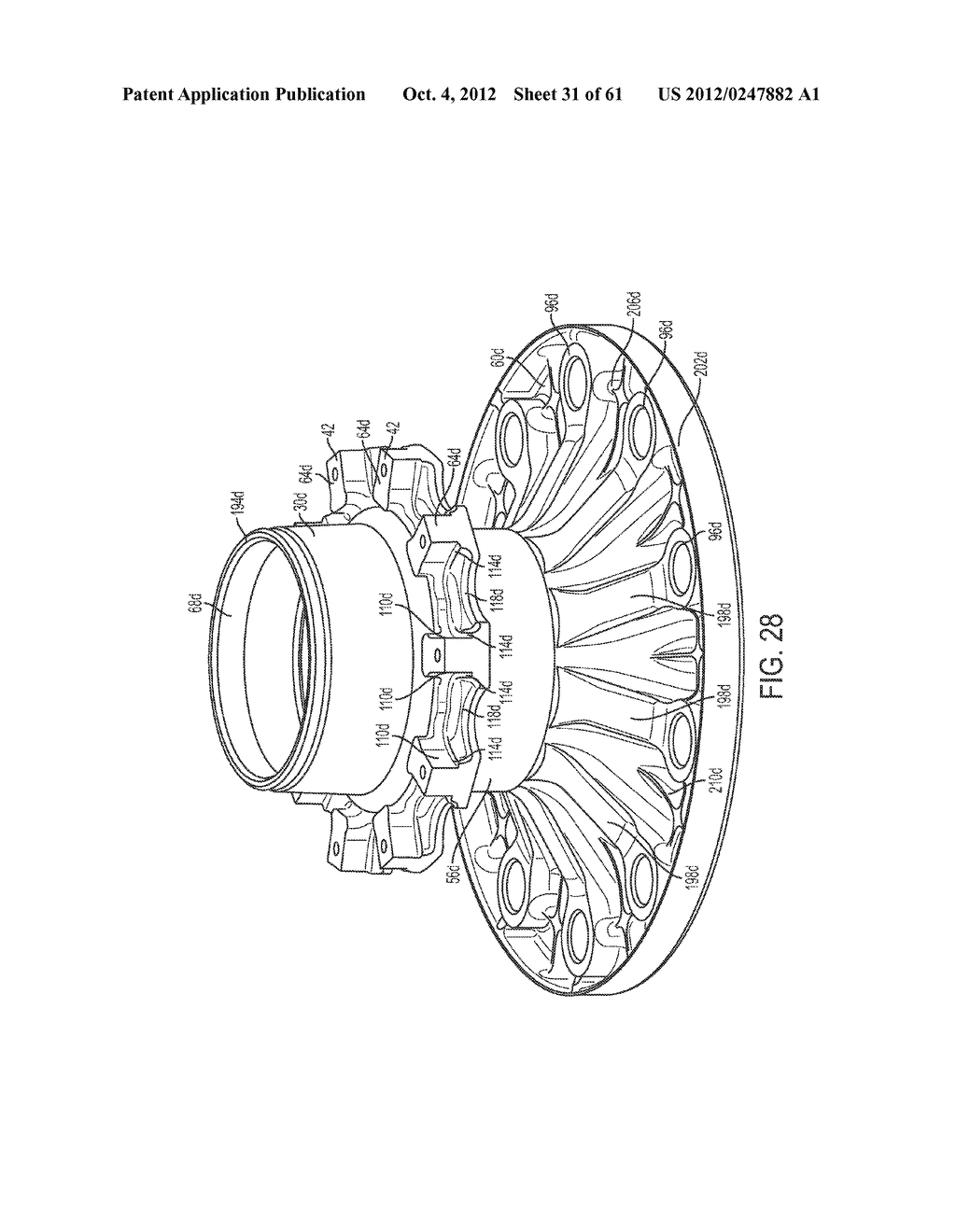 DISK BRAKE HUB ASSEMBLY - diagram, schematic, and image 32