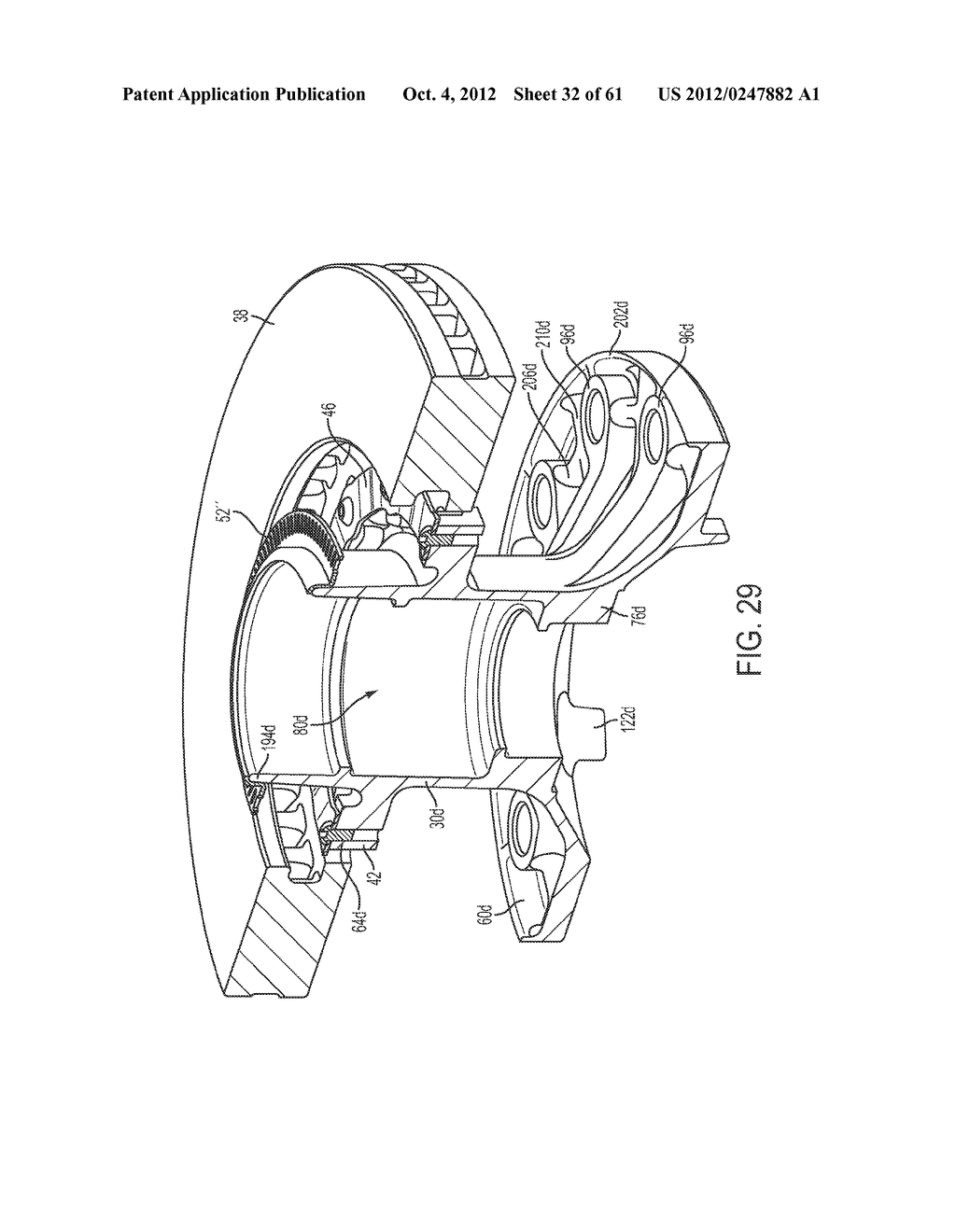 DISK BRAKE HUB ASSEMBLY - diagram, schematic, and image 33