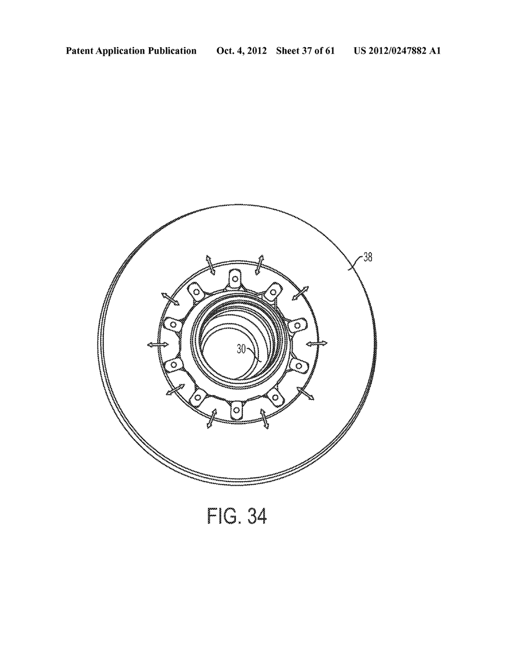 DISK BRAKE HUB ASSEMBLY - diagram, schematic, and image 38