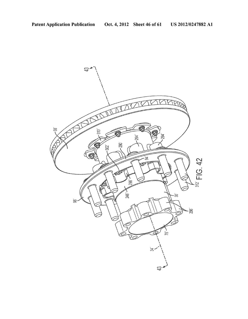DISK BRAKE HUB ASSEMBLY - diagram, schematic, and image 47