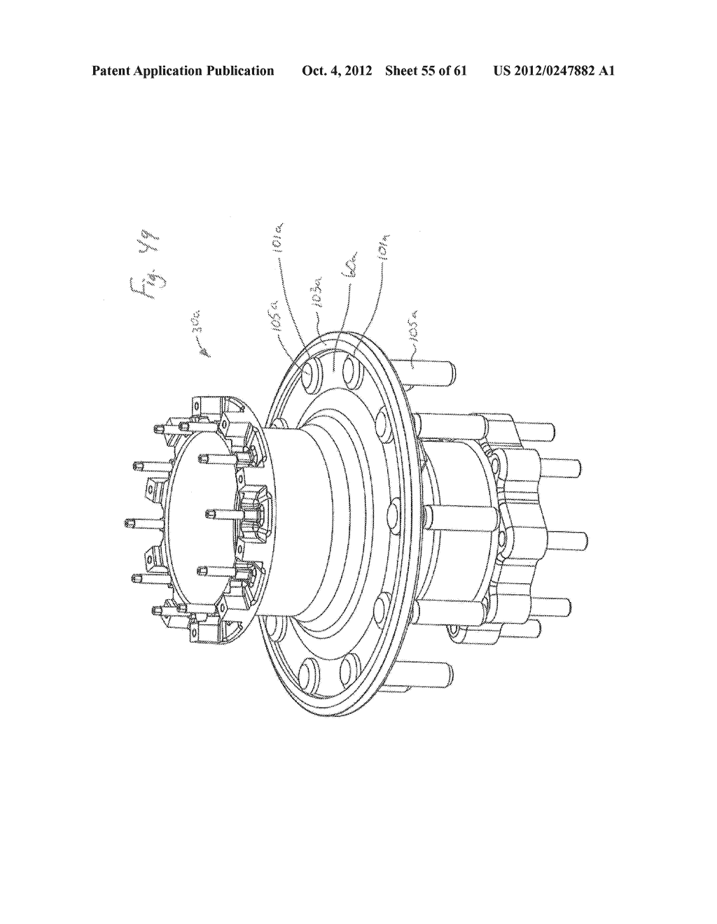 DISK BRAKE HUB ASSEMBLY - diagram, schematic, and image 56