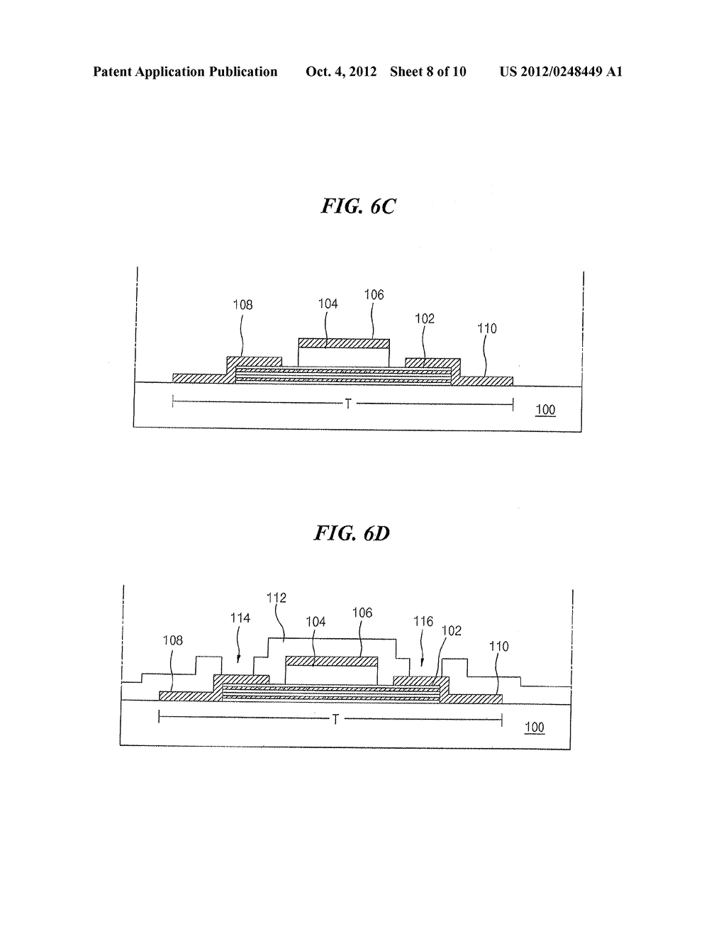 THIN FILM TRANSISTOR AND METHOD OF FABRICATING THE SAME - diagram, schematic, and image 09