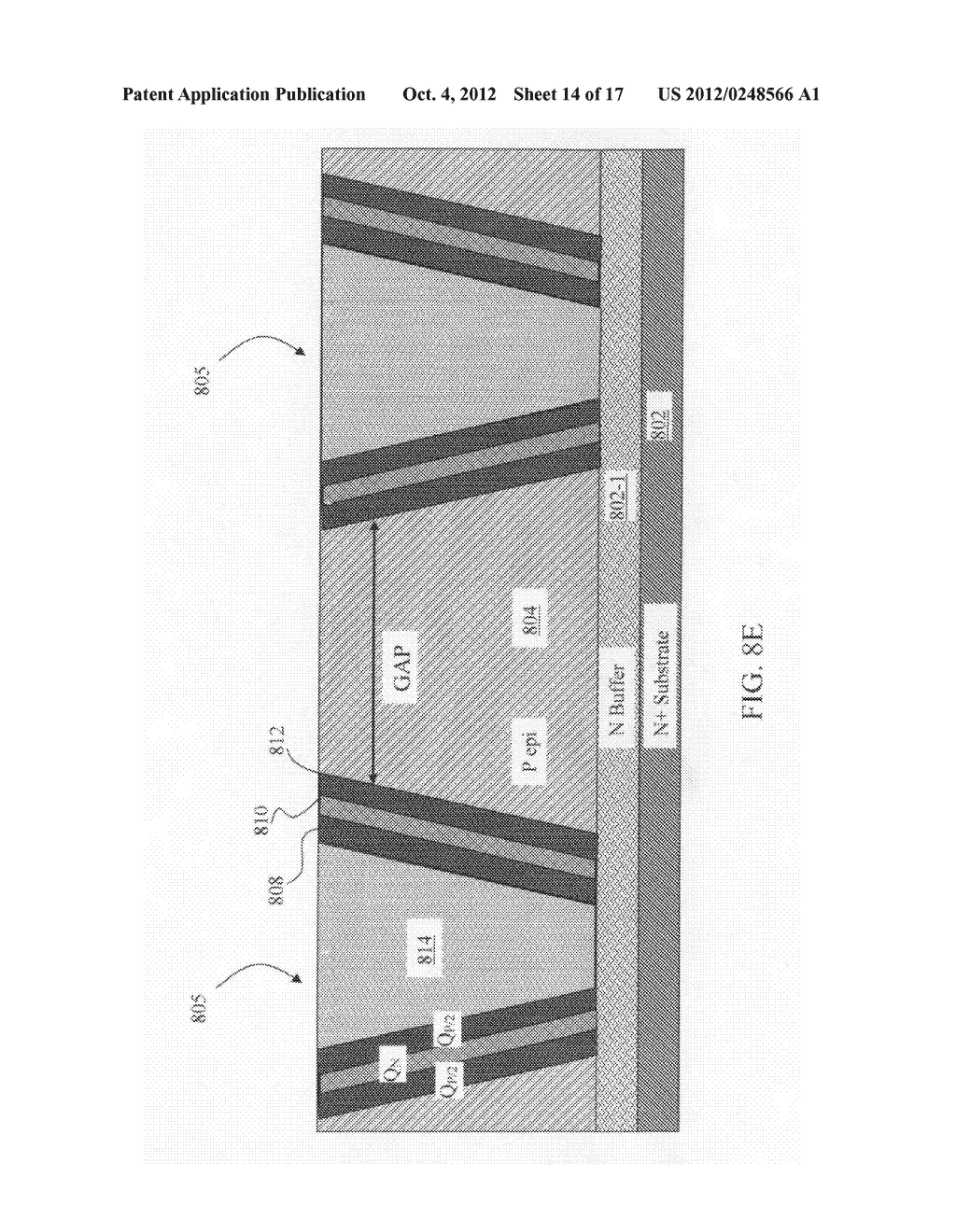 Configuration and method to generate saddle junction electric field ...