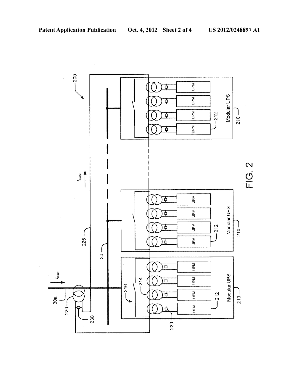 POWER DISTRIBUTION SYSTEMS USING DISTRIBUTED CURRENT SENSING - diagram, schematic, and image 03