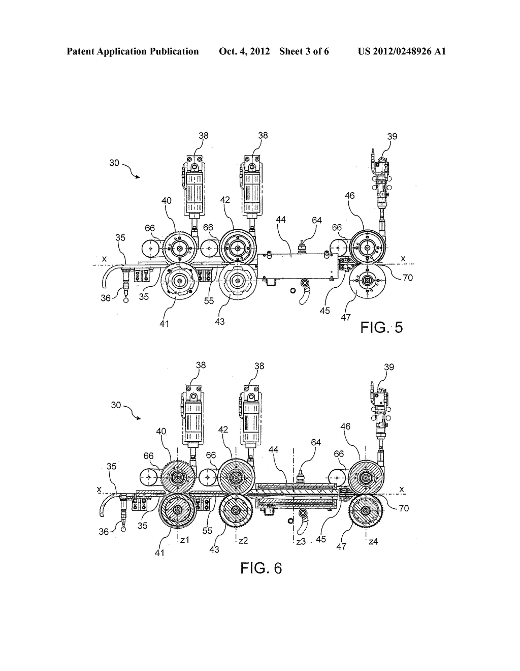 Apparatus And Method For Making Pre-Shaped Insulating Sheets Intended To     Be Inserted Into Stator Or Rotor Slots - diagram, schematic, and image 04