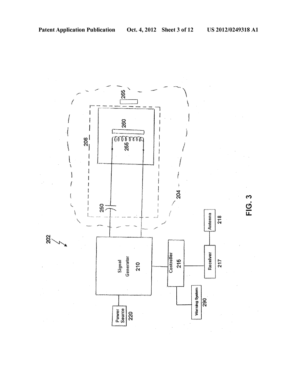 PROXIMITY DETECTION SYSTEMS AND METHOD FOR INTERNAL TRAFFIC CONTROL - diagram, schematic, and image 04