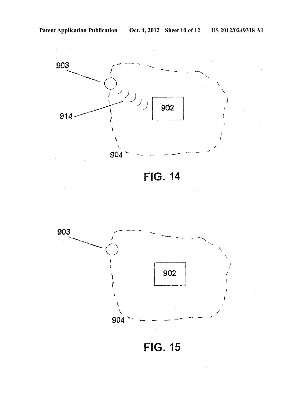 PROXIMITY DETECTION SYSTEMS AND METHOD FOR INTERNAL TRAFFIC CONTROL - diagram, schematic, and image 11