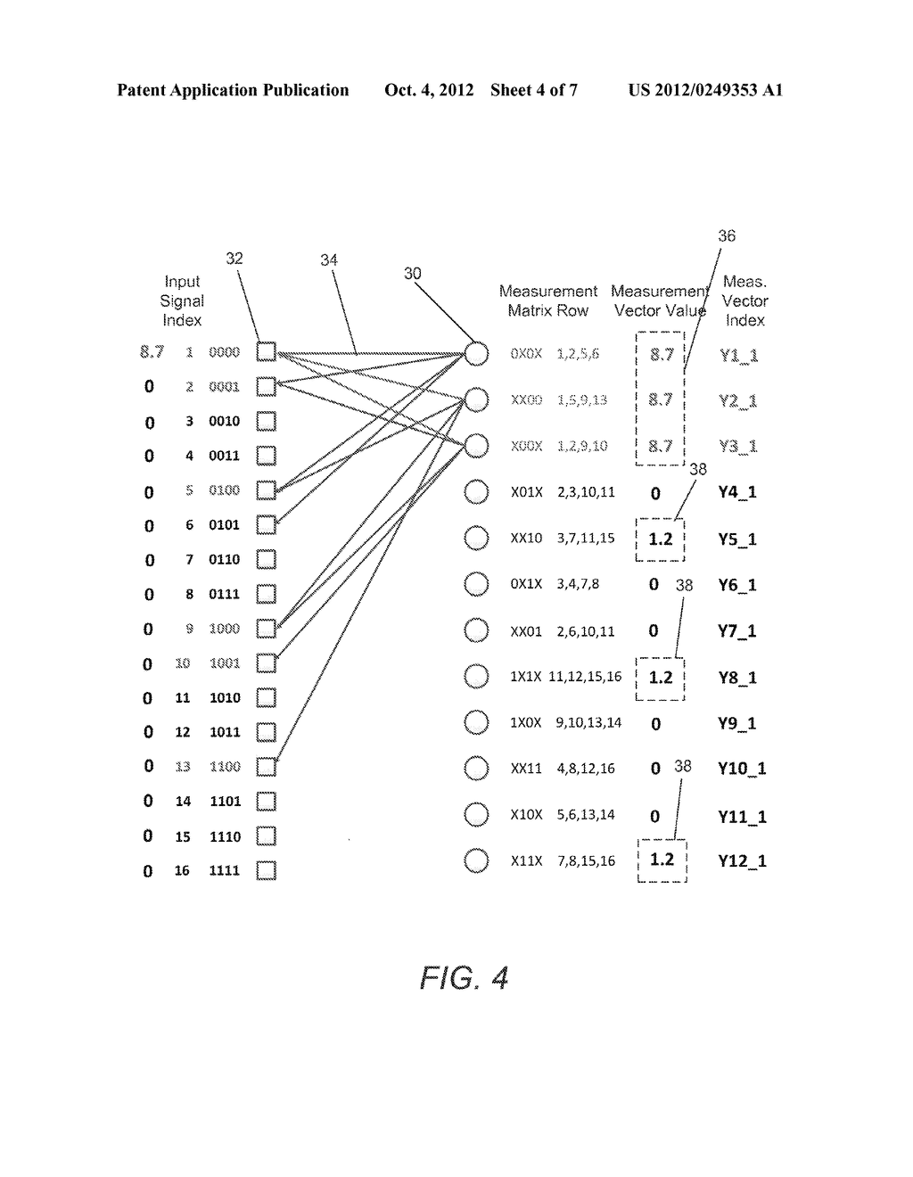 SYSTEMS AND METHODS FOR ACQUIRING AND DECODING SIGNALS USING COMPRESSED     SENSING - diagram, schematic, and image 05