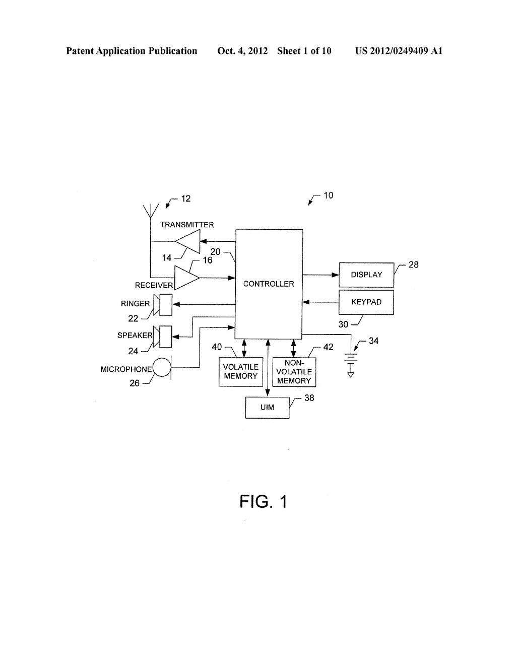 METHOD AND APPARATUS FOR PROVIDING USER INTERFACES - diagram, schematic, and image 02