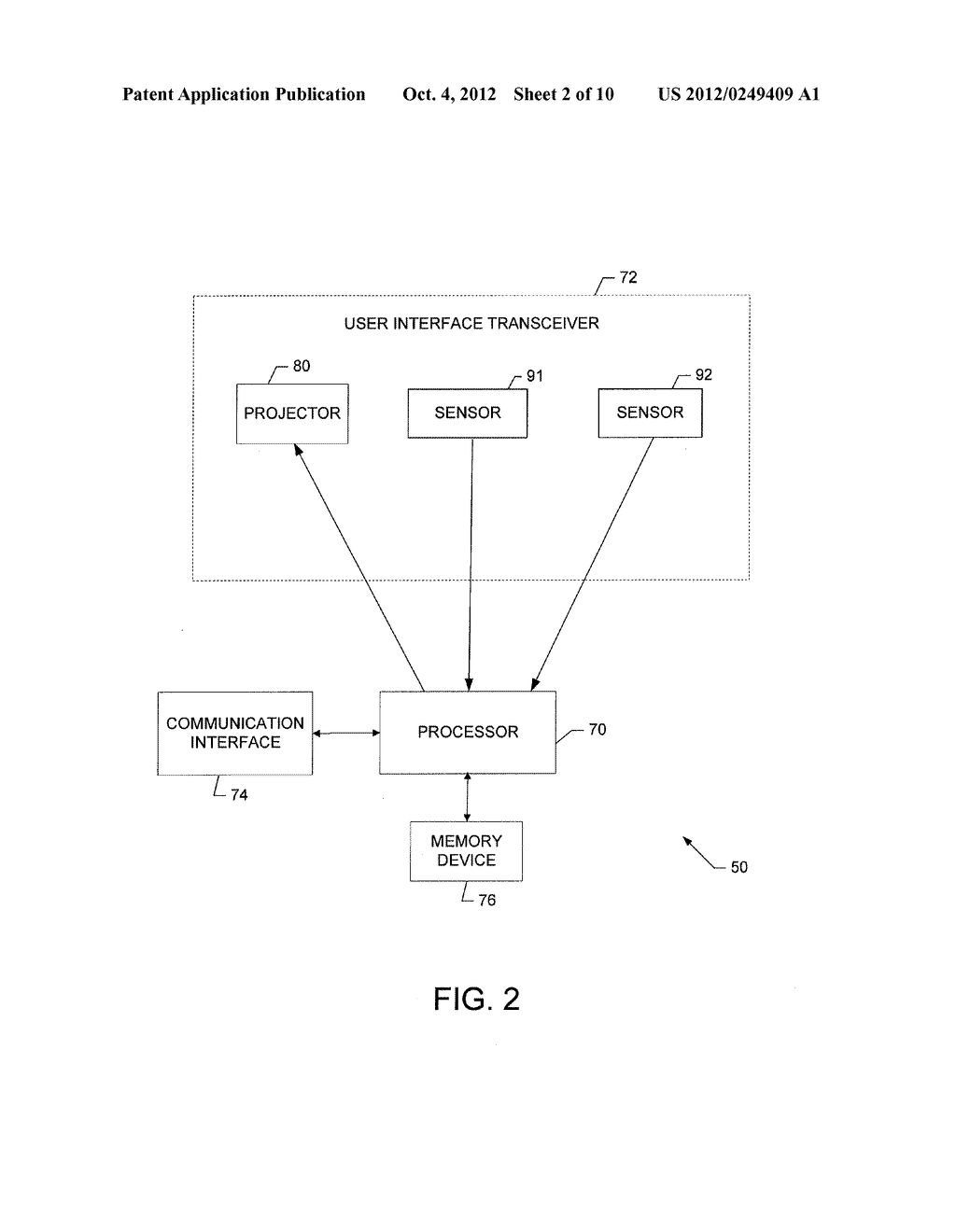 METHOD AND APPARATUS FOR PROVIDING USER INTERFACES - diagram, schematic, and image 03