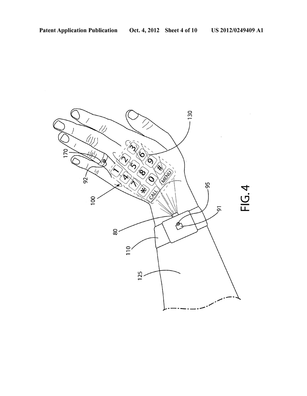 METHOD AND APPARATUS FOR PROVIDING USER INTERFACES - diagram, schematic, and image 05