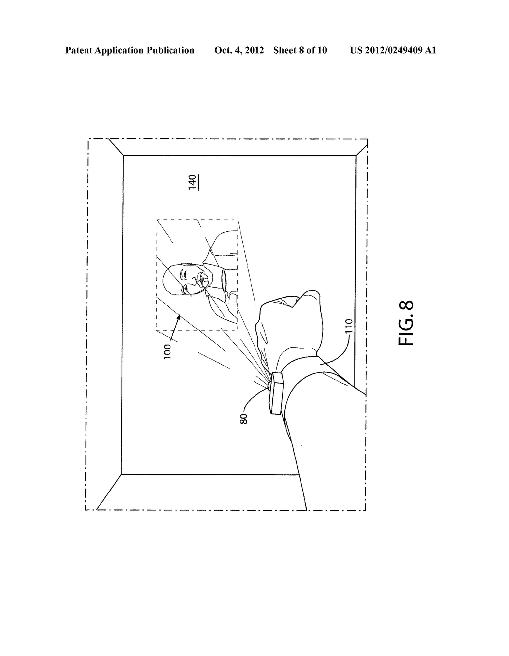 METHOD AND APPARATUS FOR PROVIDING USER INTERFACES - diagram, schematic, and image 09