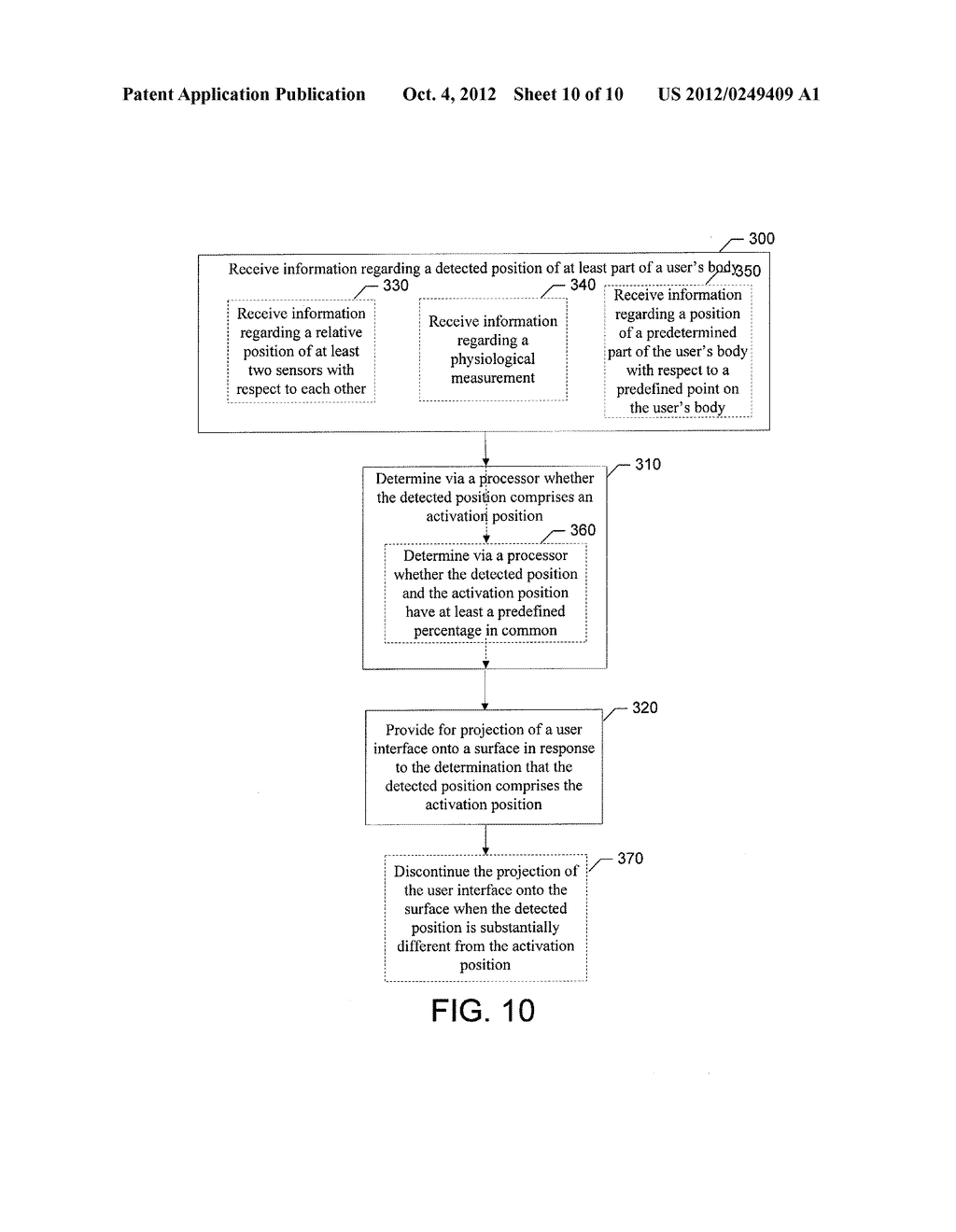 METHOD AND APPARATUS FOR PROVIDING USER INTERFACES - diagram, schematic, and image 11