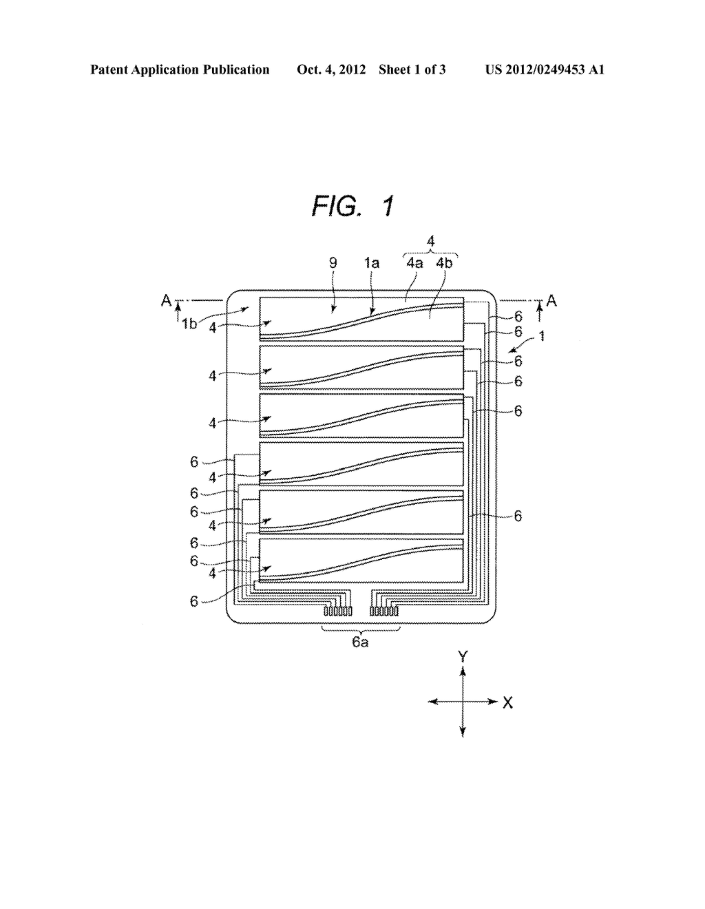 INPUT DEVICE AND METHOD OF MANUFACTURING THE SAME - diagram, schematic, and image 02