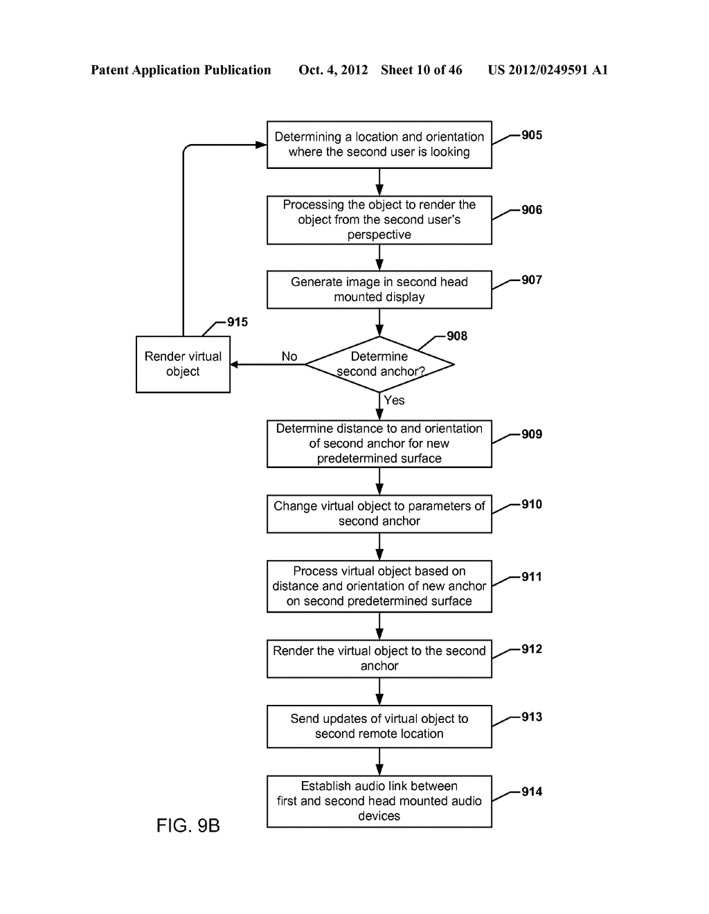 SYSTEM FOR THE RENDERING OF SHARED DIGITAL INTERFACES RELATIVE TO EACH     USER'S POINT OF VIEW - diagram, schematic, and image 11