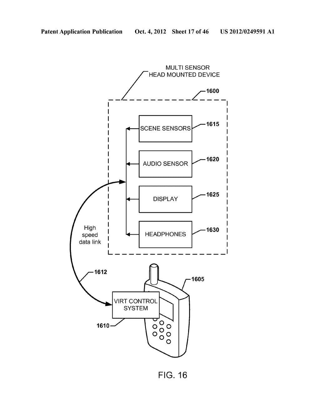 SYSTEM FOR THE RENDERING OF SHARED DIGITAL INTERFACES RELATIVE TO EACH     USER'S POINT OF VIEW - diagram, schematic, and image 18