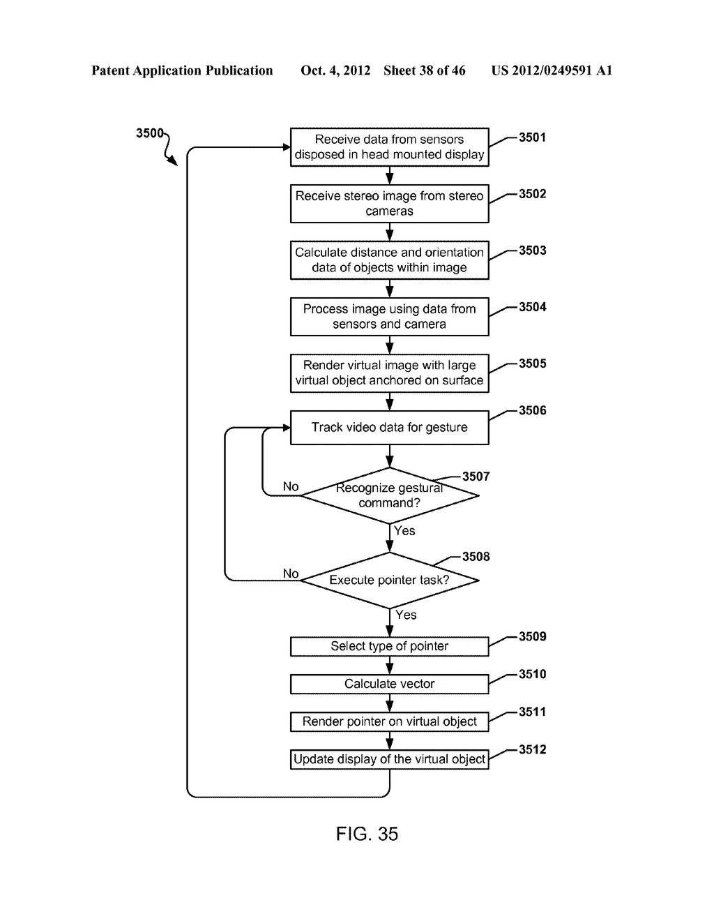 SYSTEM FOR THE RENDERING OF SHARED DIGITAL INTERFACES RELATIVE TO EACH     USER'S POINT OF VIEW - diagram, schematic, and image 39