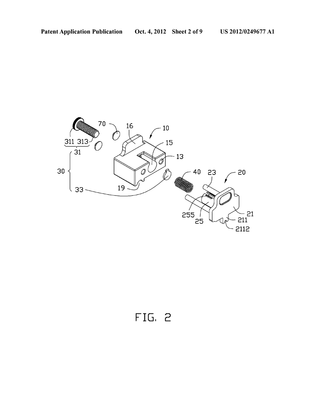 ADJUSTING DEVICE AND PRINTING APPARATUS WITH ADJUSTING DEVICE - diagram, schematic, and image 03