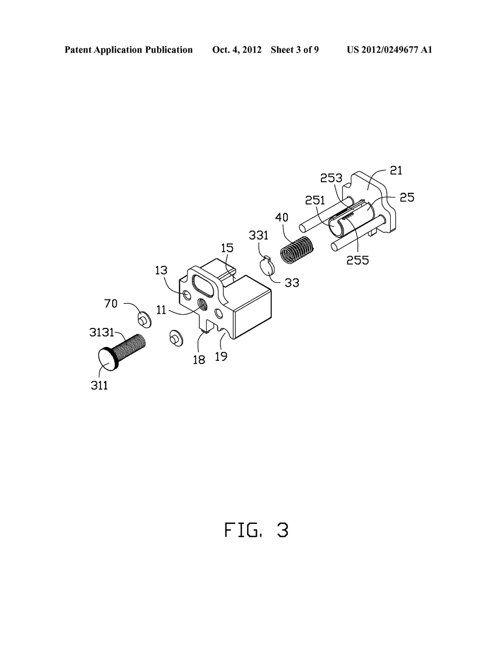 ADJUSTING DEVICE AND PRINTING APPARATUS WITH ADJUSTING DEVICE - diagram, schematic, and image 04