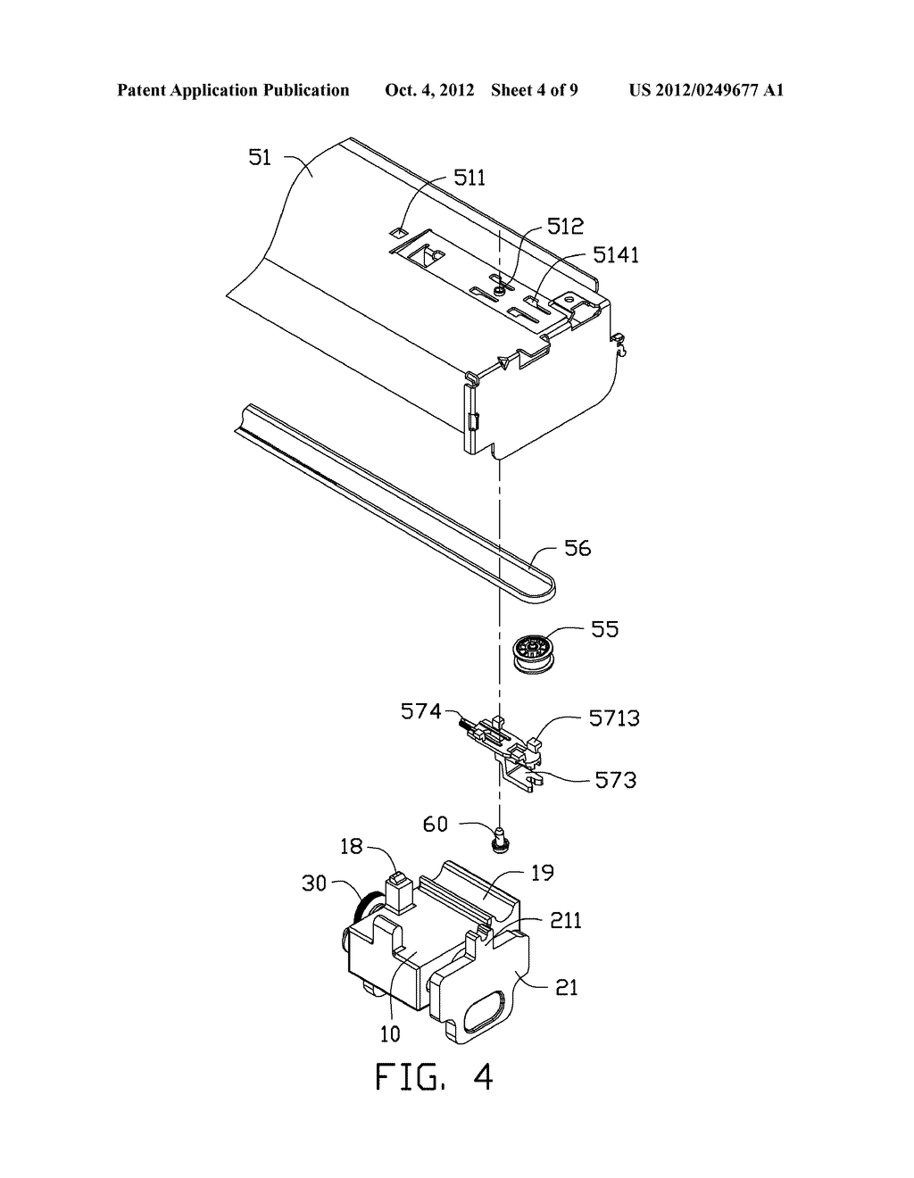 ADJUSTING DEVICE AND PRINTING APPARATUS WITH ADJUSTING DEVICE - diagram, schematic, and image 05
