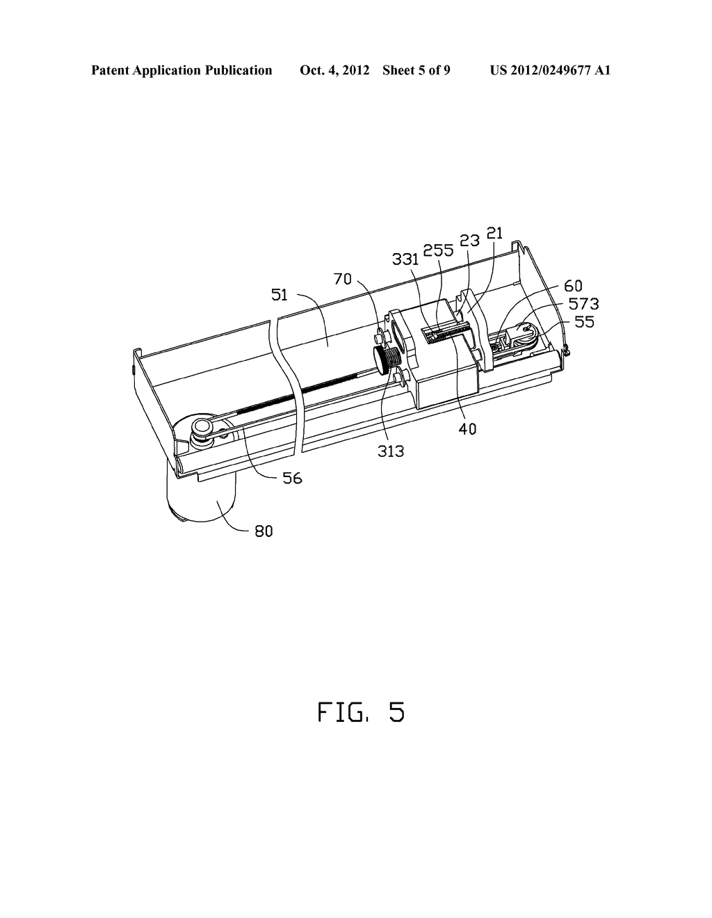 ADJUSTING DEVICE AND PRINTING APPARATUS WITH ADJUSTING DEVICE - diagram, schematic, and image 06