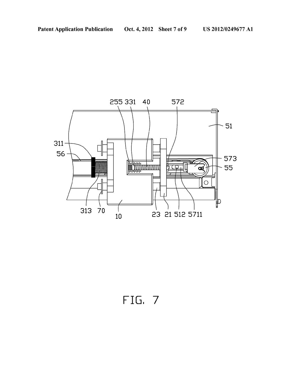 ADJUSTING DEVICE AND PRINTING APPARATUS WITH ADJUSTING DEVICE - diagram, schematic, and image 08