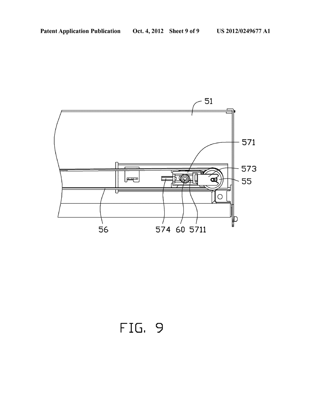 ADJUSTING DEVICE AND PRINTING APPARATUS WITH ADJUSTING DEVICE - diagram, schematic, and image 10