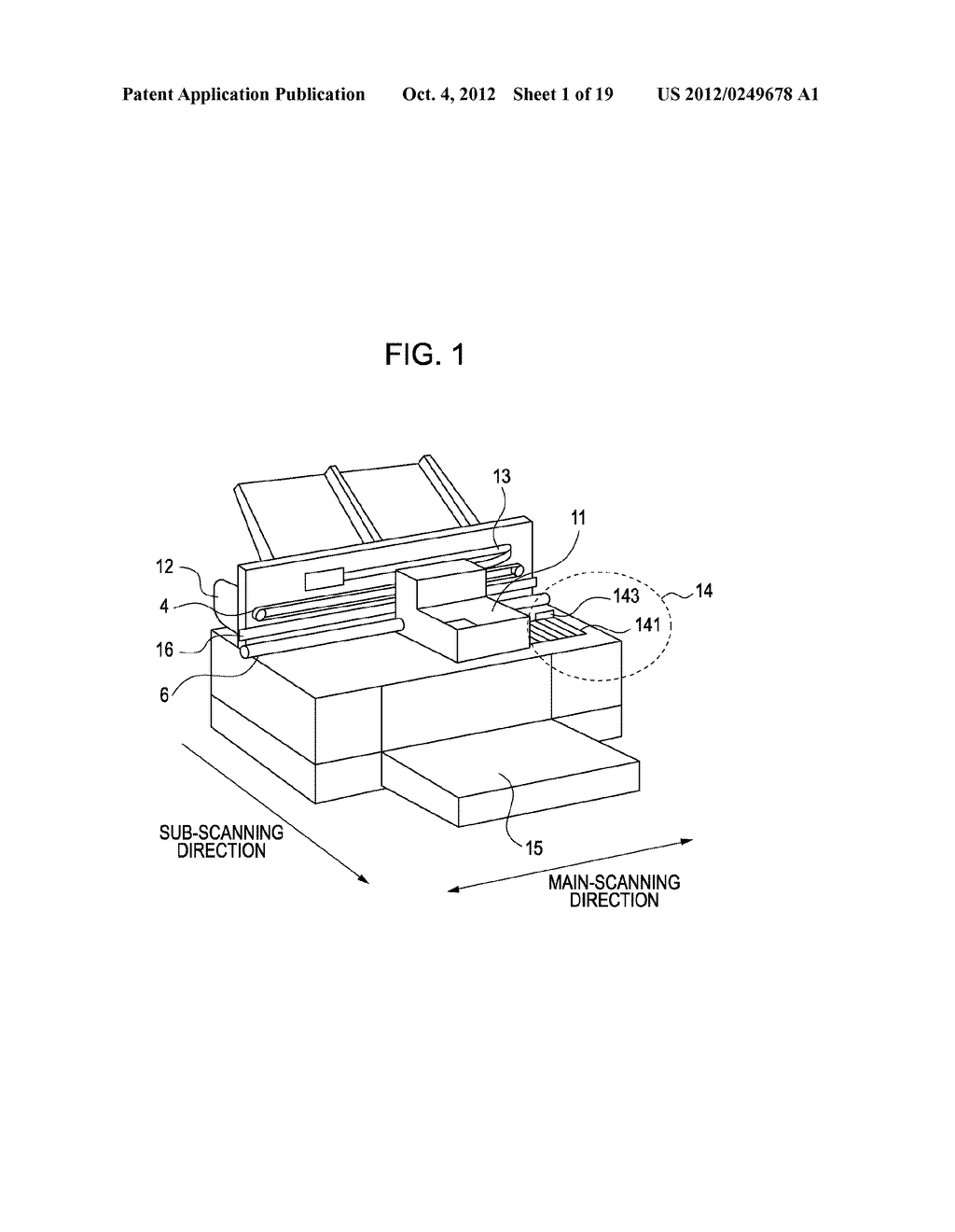 INKJET RECORDING APPARATUS AND INKJET RECORDING METHOD - diagram, schematic, and image 02