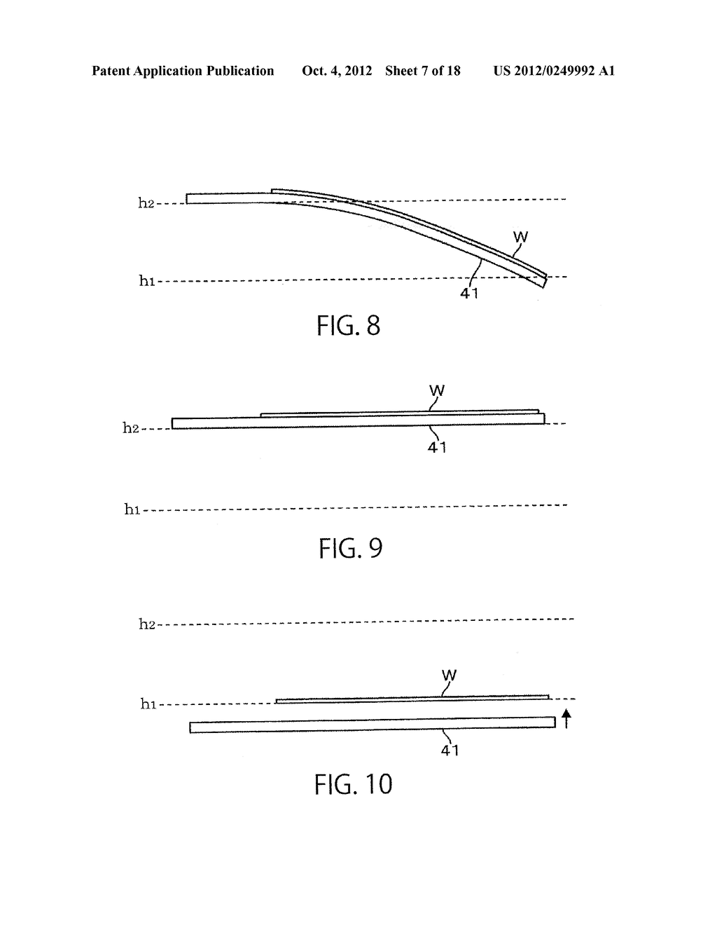 SUBSTRATE TRANSFER APPARATUS AND SUBSTRATE TRANSFER METHOD - diagram, schematic, and image 08