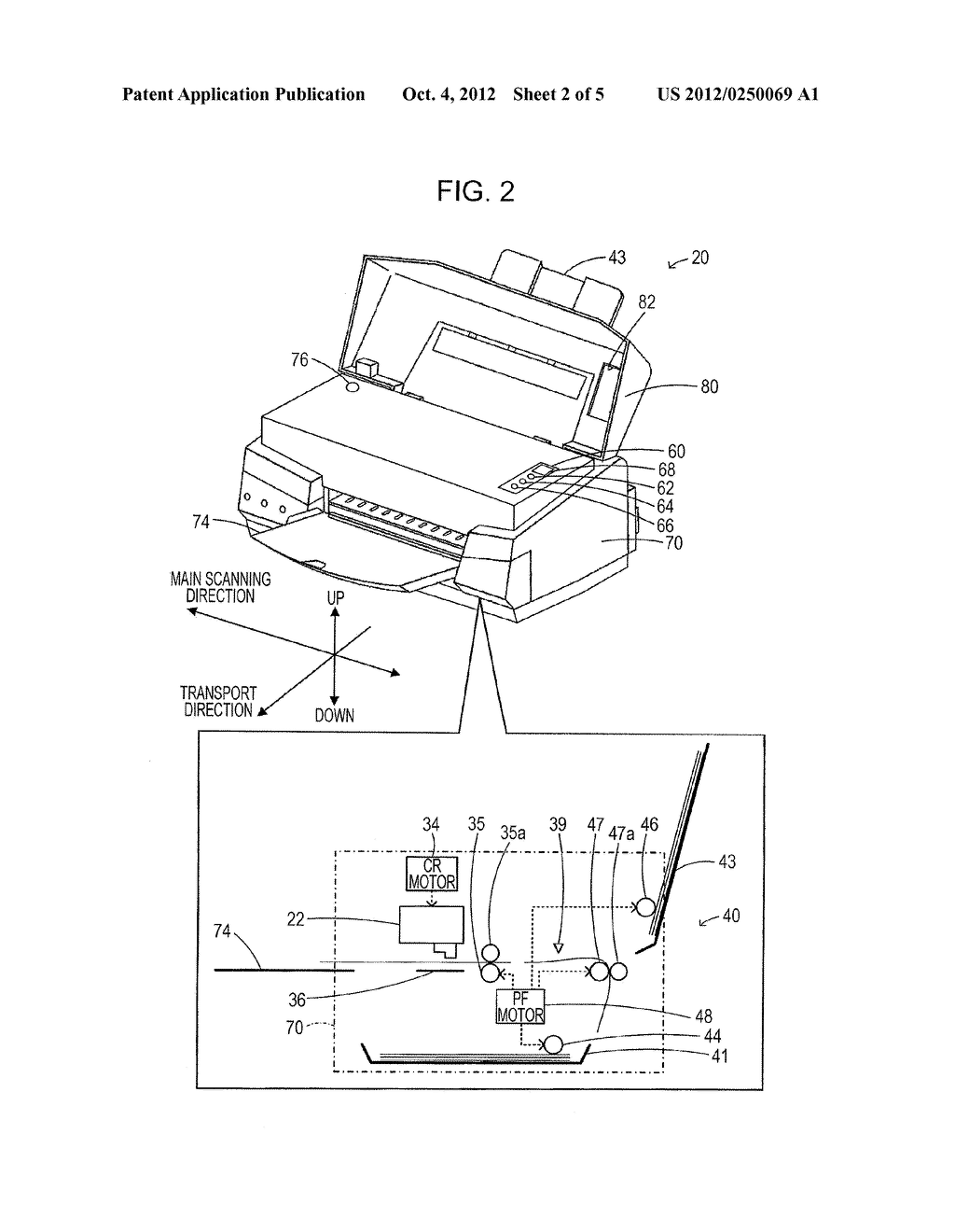 PRINTING APPARATUS AND ERROR PROCESSING METHOD THEREOF - diagram, schematic, and image 03