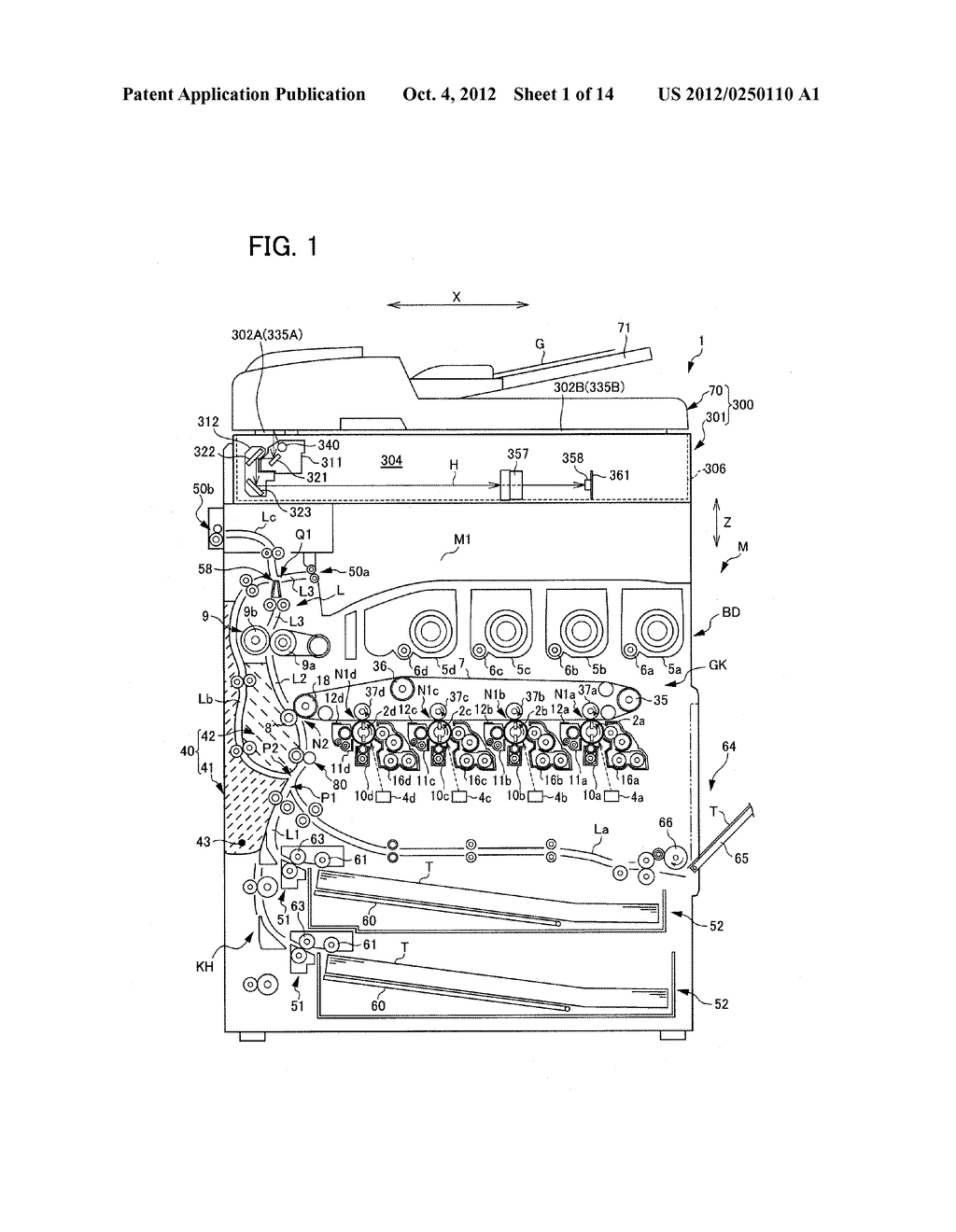 IMAGE READING DEVICE AND IMAGE FORMING APPARATUS - diagram, schematic, and image 02