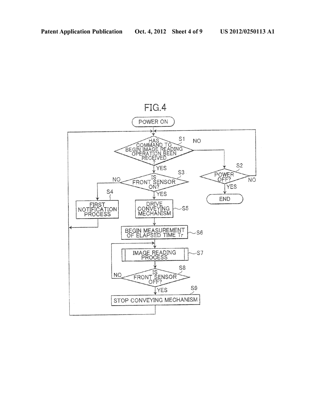 IMAGE PROCESSING DEVICE HAVING SHEET CONVEYING MECHANISM - diagram, schematic, and image 05
