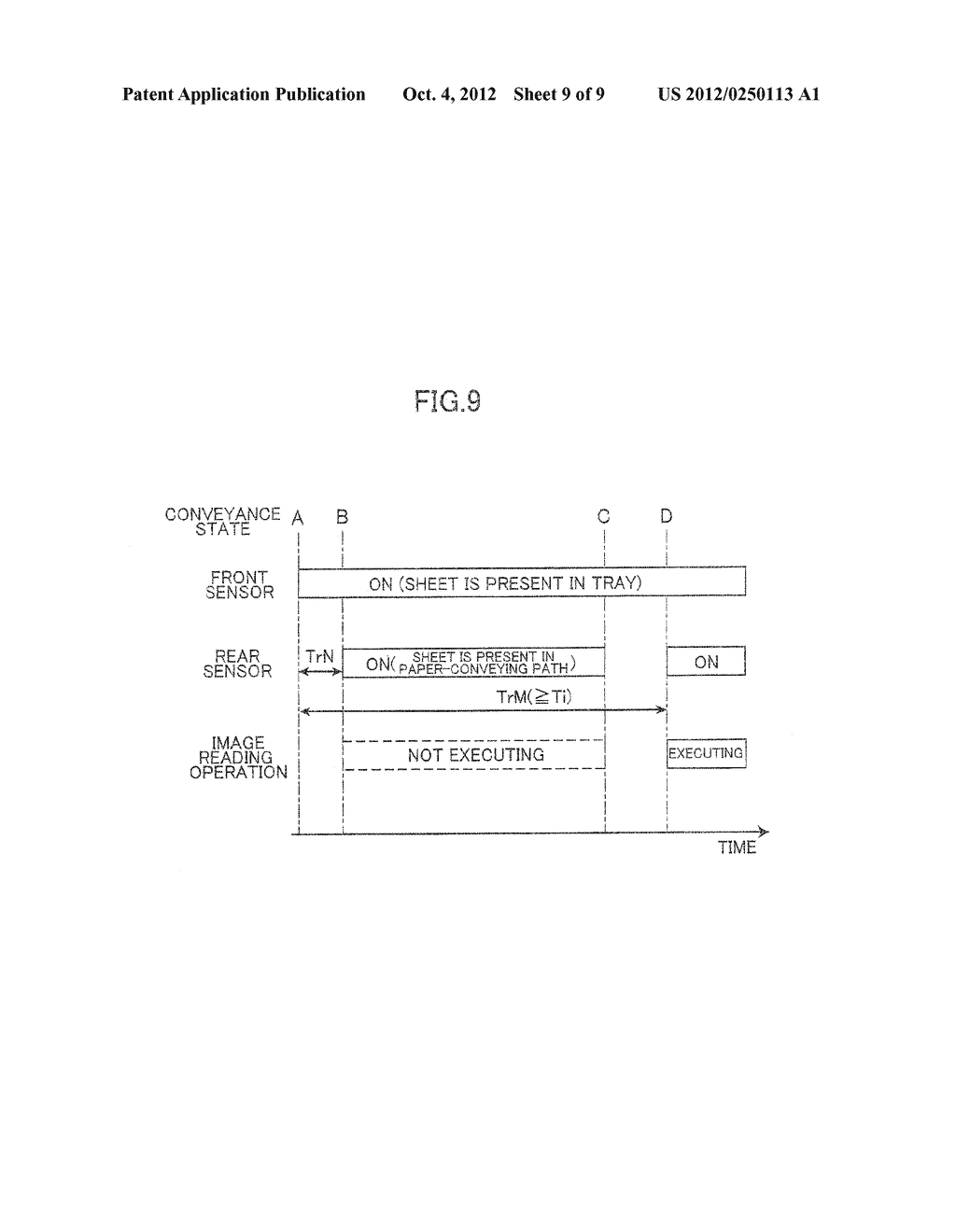 IMAGE PROCESSING DEVICE HAVING SHEET CONVEYING MECHANISM - diagram, schematic, and image 10