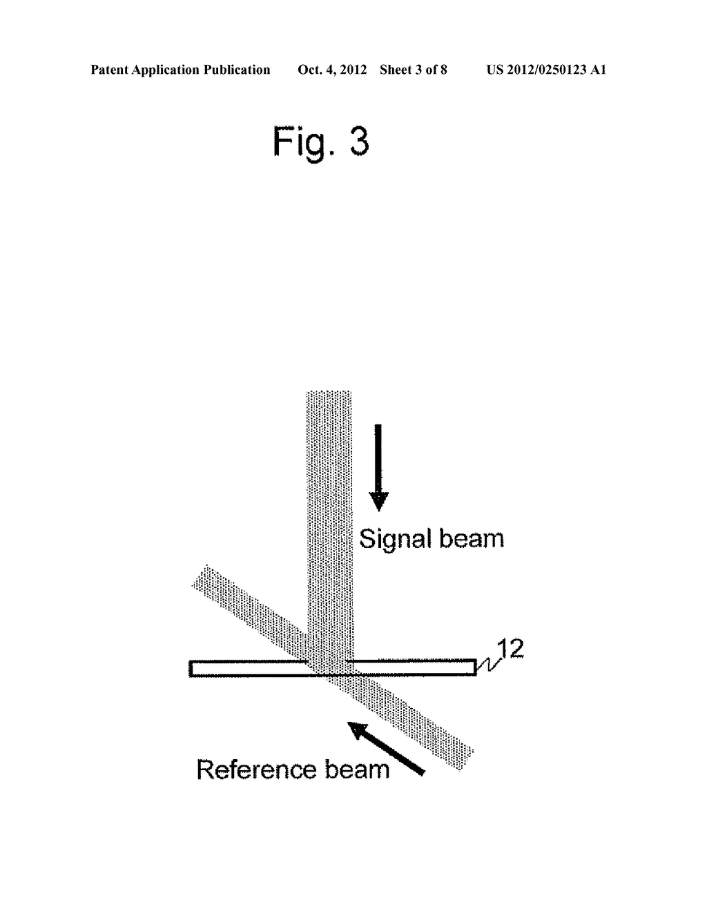 APPARATUS AND METHOD FOR EVALUATING HOLOGRAM IMAGE RECORDING MEDIUM - diagram, schematic, and image 04