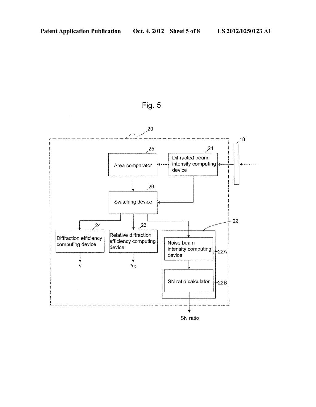 APPARATUS AND METHOD FOR EVALUATING HOLOGRAM IMAGE RECORDING MEDIUM - diagram, schematic, and image 06