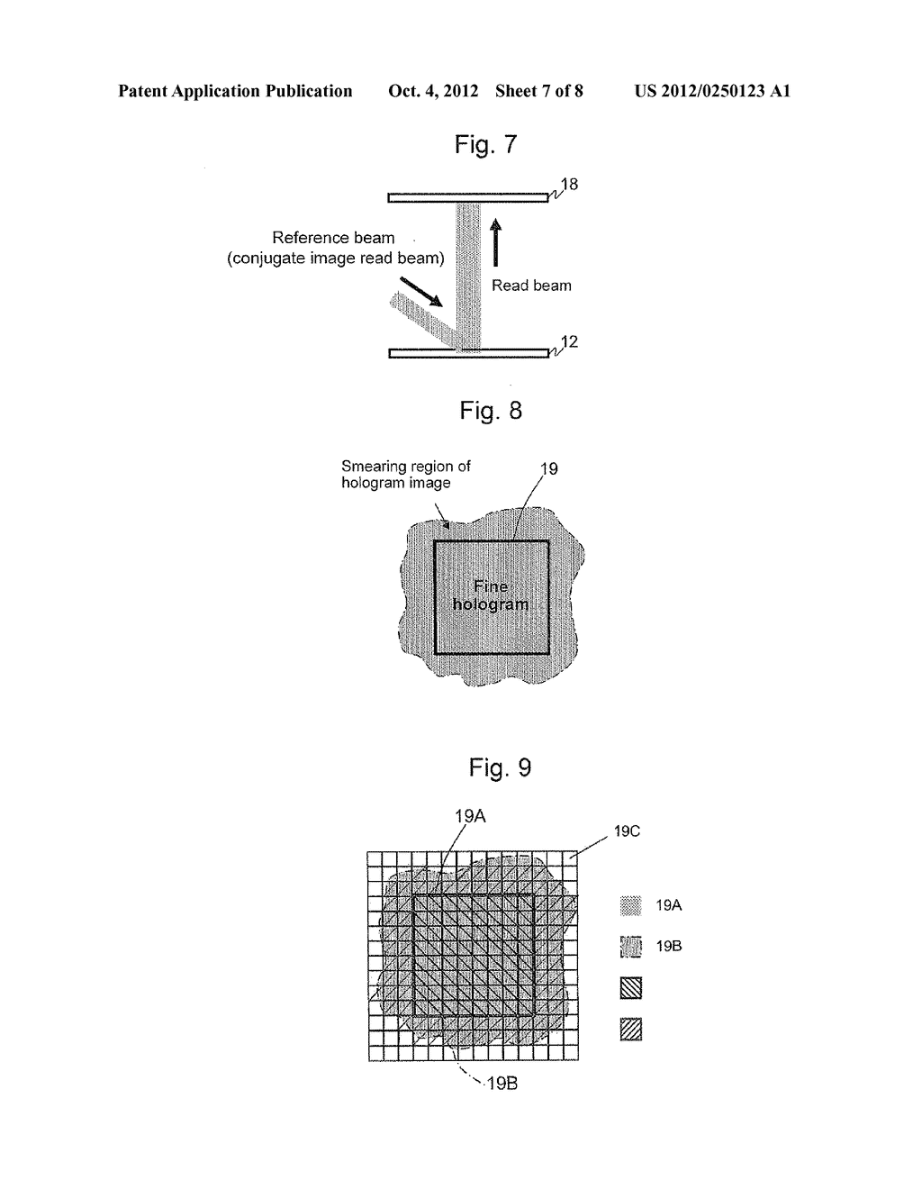 APPARATUS AND METHOD FOR EVALUATING HOLOGRAM IMAGE RECORDING MEDIUM - diagram, schematic, and image 08