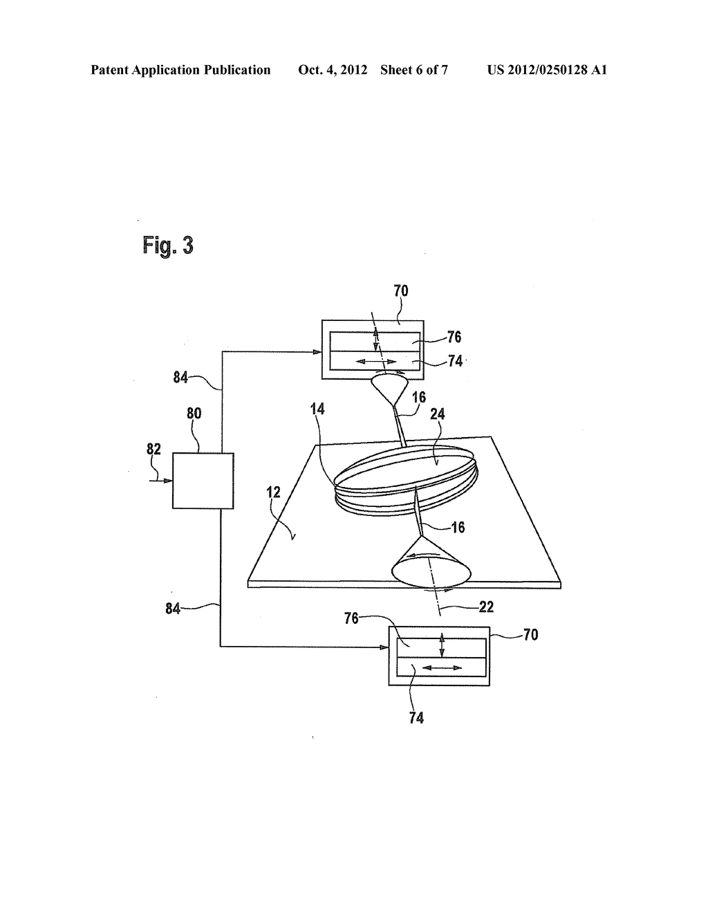 ASSEMBLY HAVING A DISPLACEABLE PART AND METHOD FOR OPERATING AN ASSEMBLY     HAVING A DISPLACEABLE PART - diagram, schematic, and image 07