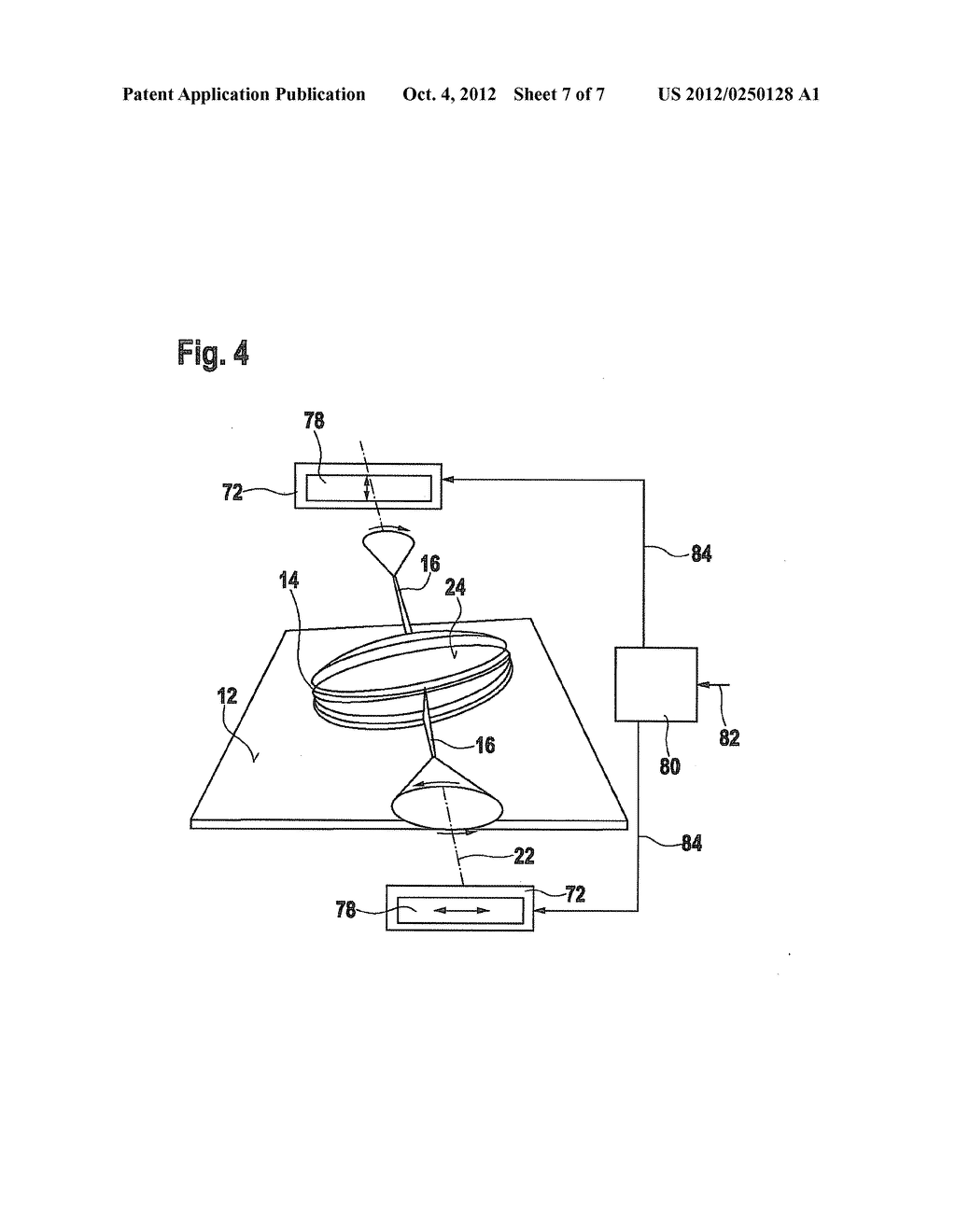 ASSEMBLY HAVING A DISPLACEABLE PART AND METHOD FOR OPERATING AN ASSEMBLY     HAVING A DISPLACEABLE PART - diagram, schematic, and image 08